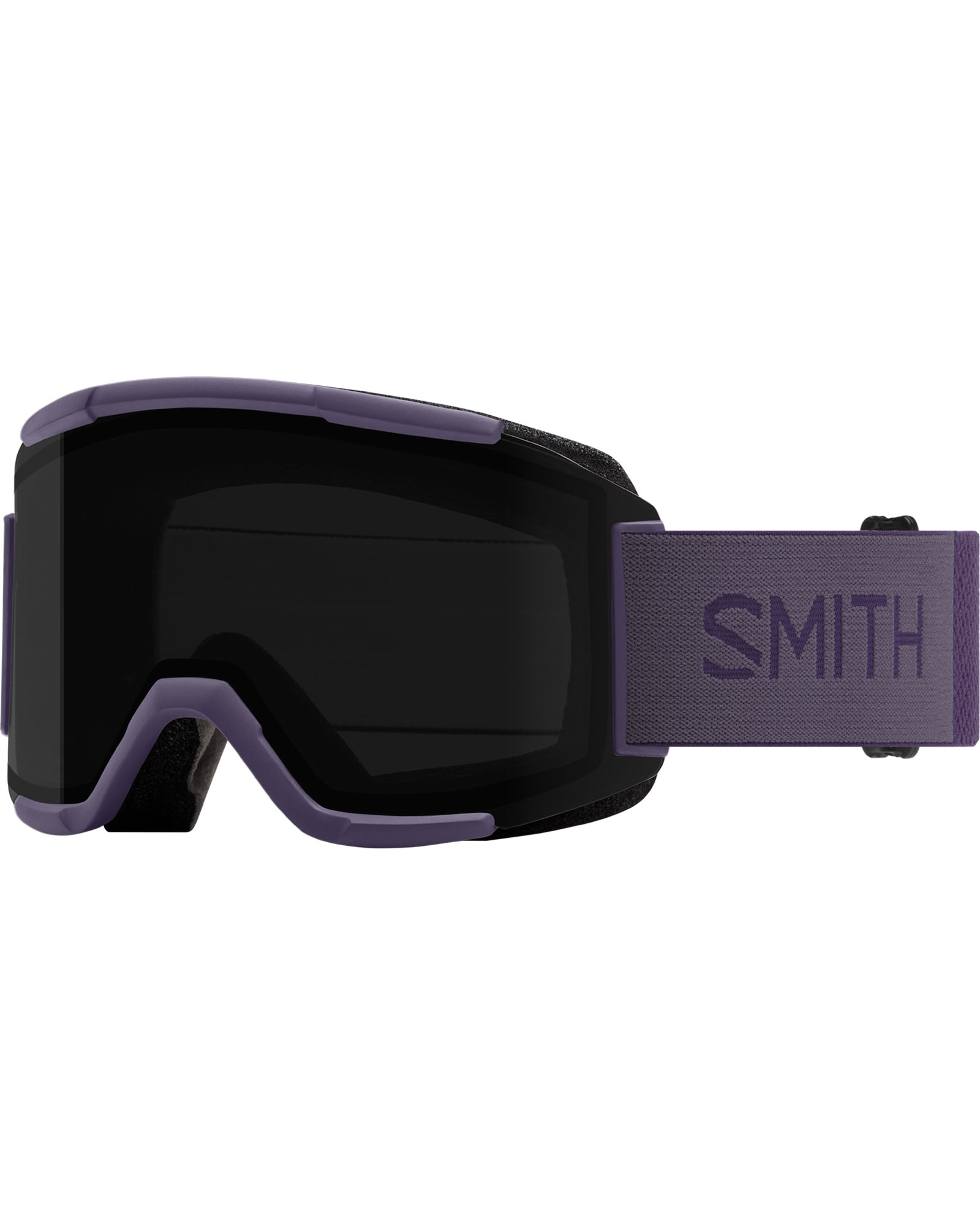 Smith Women's Squad Violet / ChromaPop Sun Black + Yellow Goggles 2020 / 2021 0
