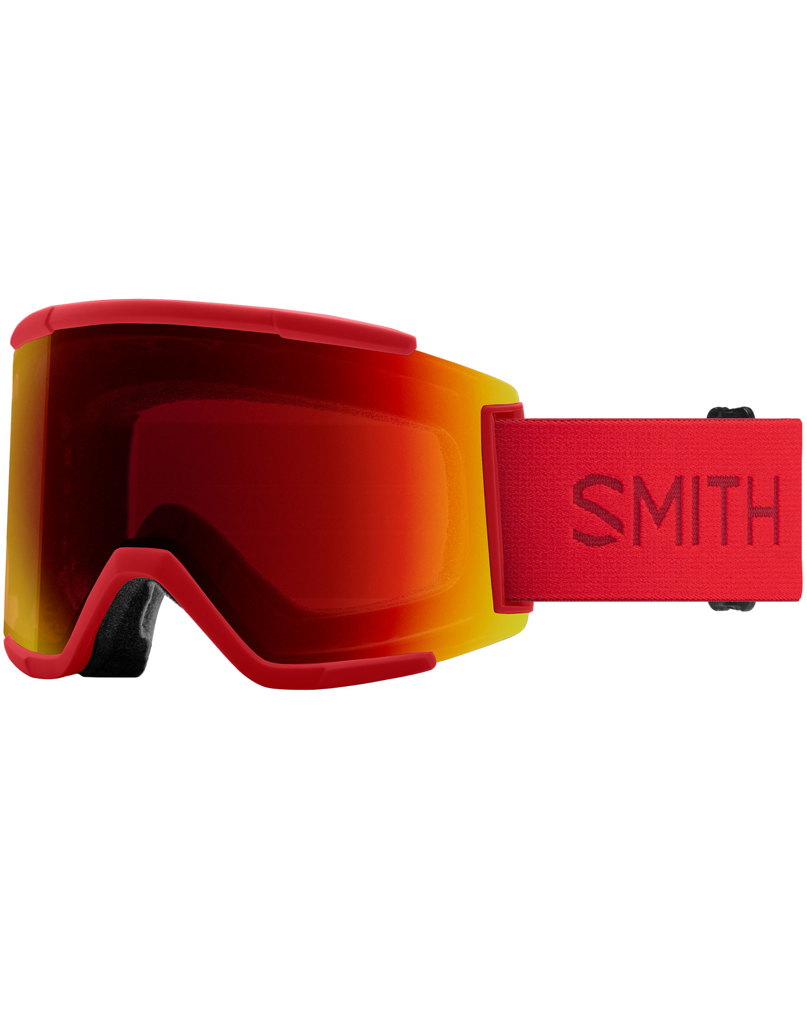 Smith Squad XL Lava / ChromaPop Sun Red Mirror + ChromaPop Storm Yellow Flash Goggles 2020 / 2021 0