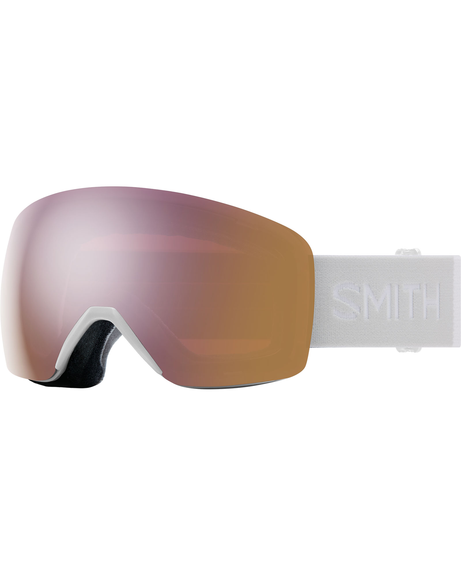 Smith Women's Skyline White Vapor / ChromaPop Everyday Rose Gold Mirror Goggles 2020 / 2021 0
