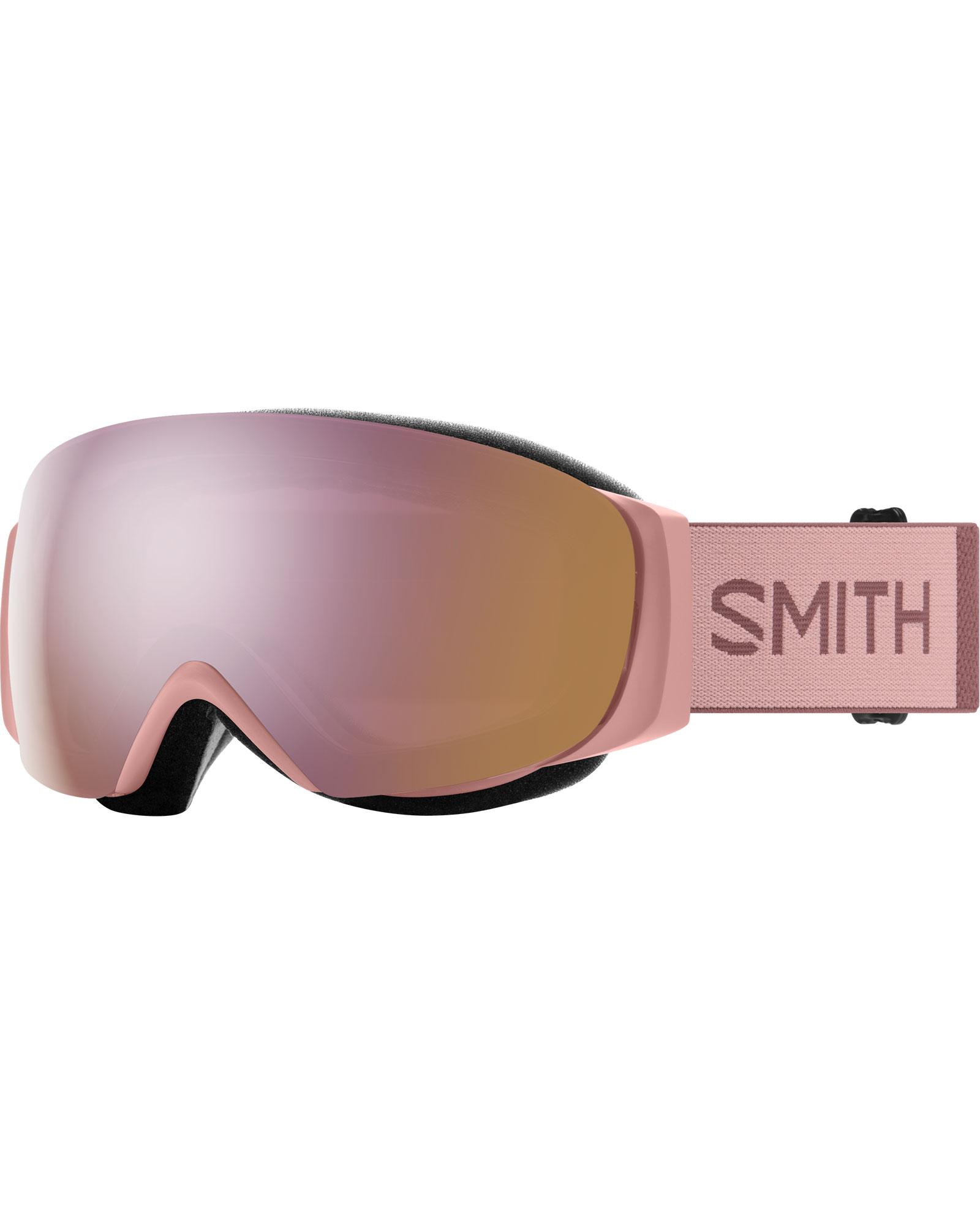 Smith Women's I/O MAG S Rock Salt/Tannin / ChromaPop Everyday Rose Gold Mirror + ChromaPop Storm Rose Flash Goggles 2020 / 2021 0