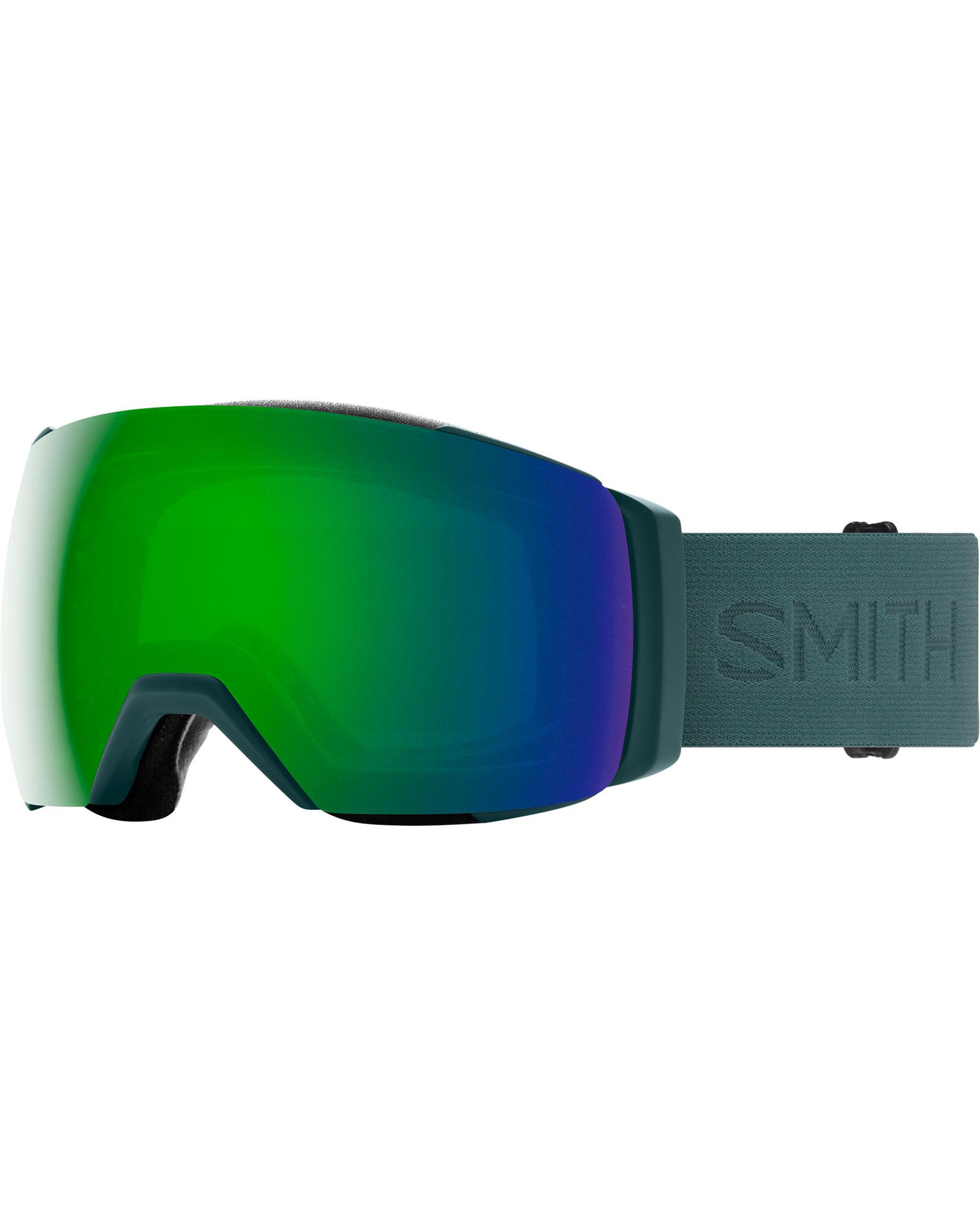Smith I/O MAG XL Spruce Flood / ChromaPop Sun Green Mirror + ChromaPop Storm Rose Flash Goggles 2020 / 2021 0