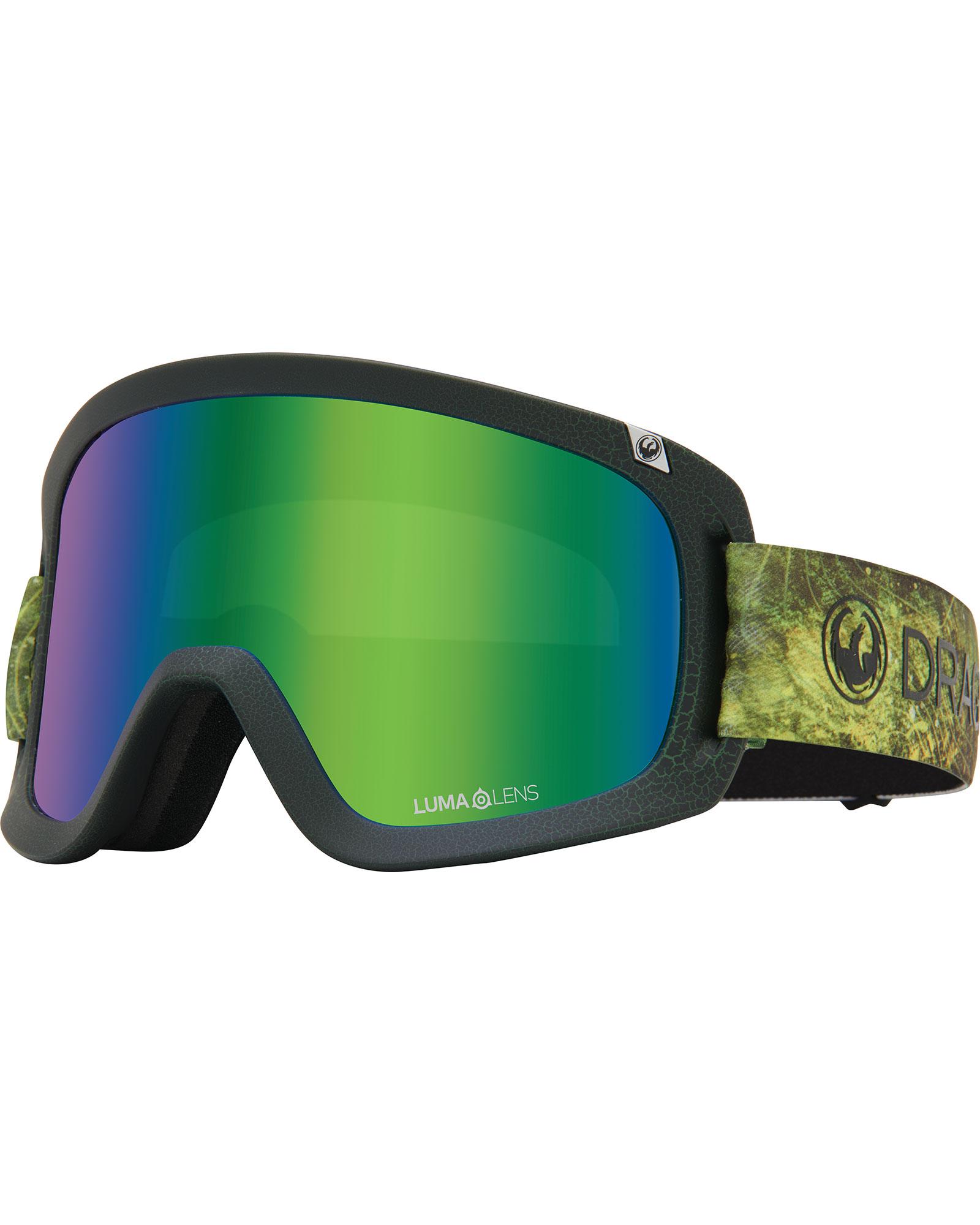 Dragon D1 Terra Firma / Lumalens Green Ionized + Lumalens Amber Goggles 2020 / 2021 0