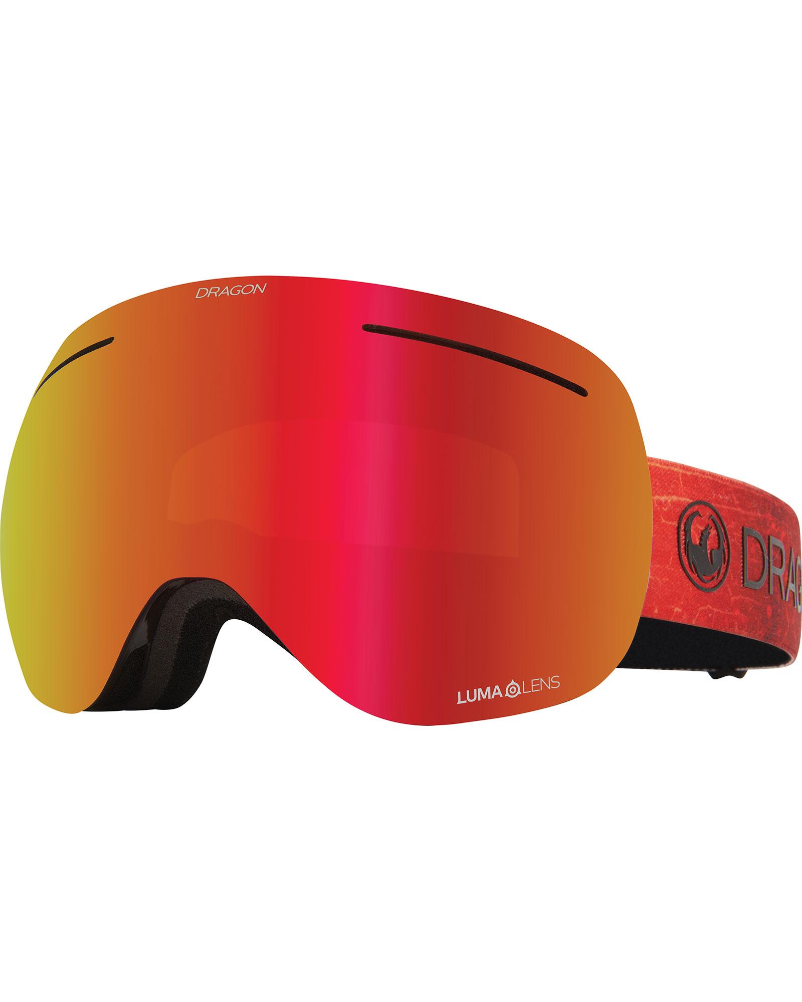 Dragon X1 Inferno / Lumalens Red Ionized + Lumalens Rose Goggles 2020 / 2021 0
