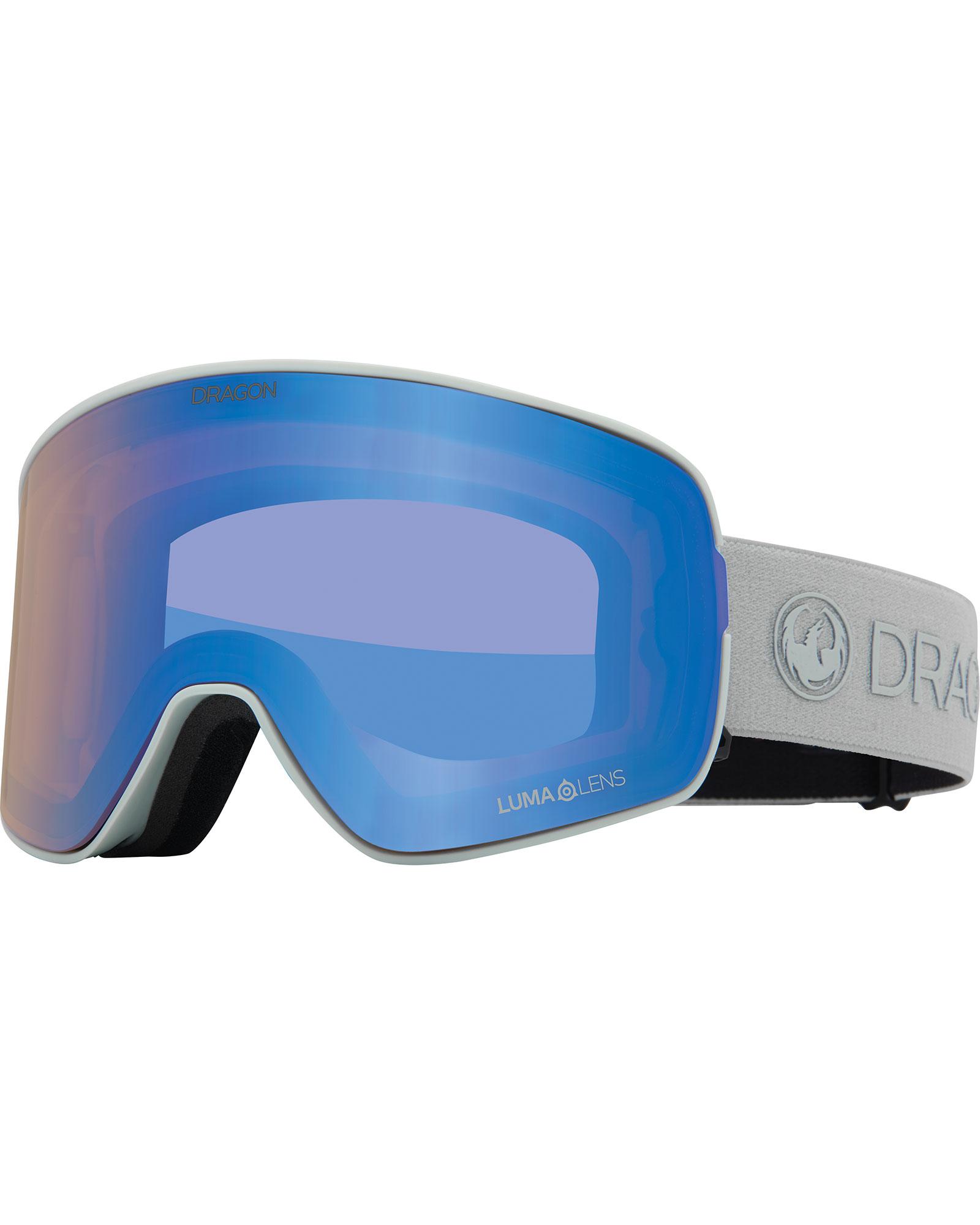 Dragon NFX2 Salt / Lumalens Flash Blue + Lumalens Dark Smoke Goggles 2020 / 2021 0