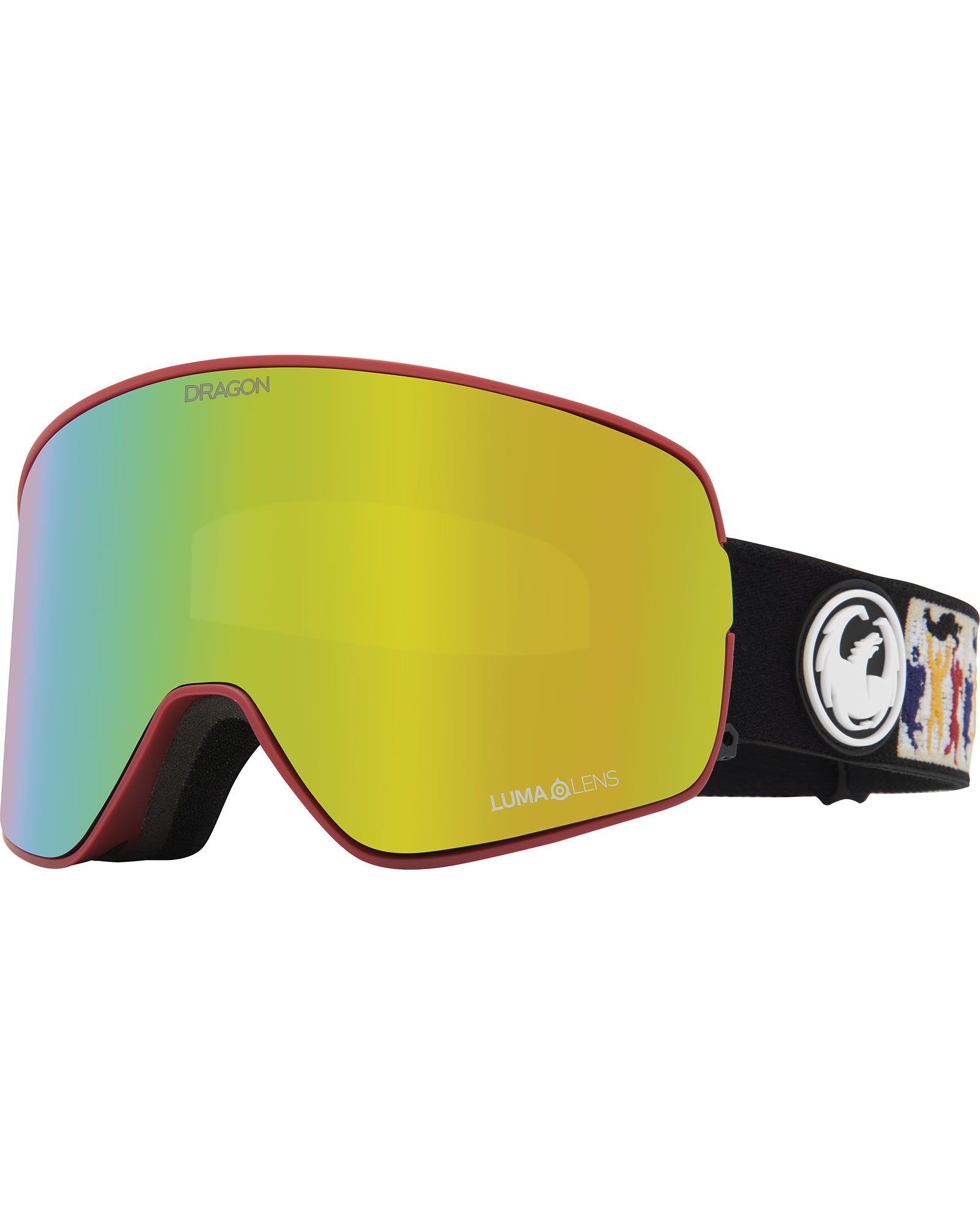 Dragon NFX2 Forest Bailey Signature / Lumalens Gold Ionized + Lumalens Yellow Goggles 2020 / 2021 0