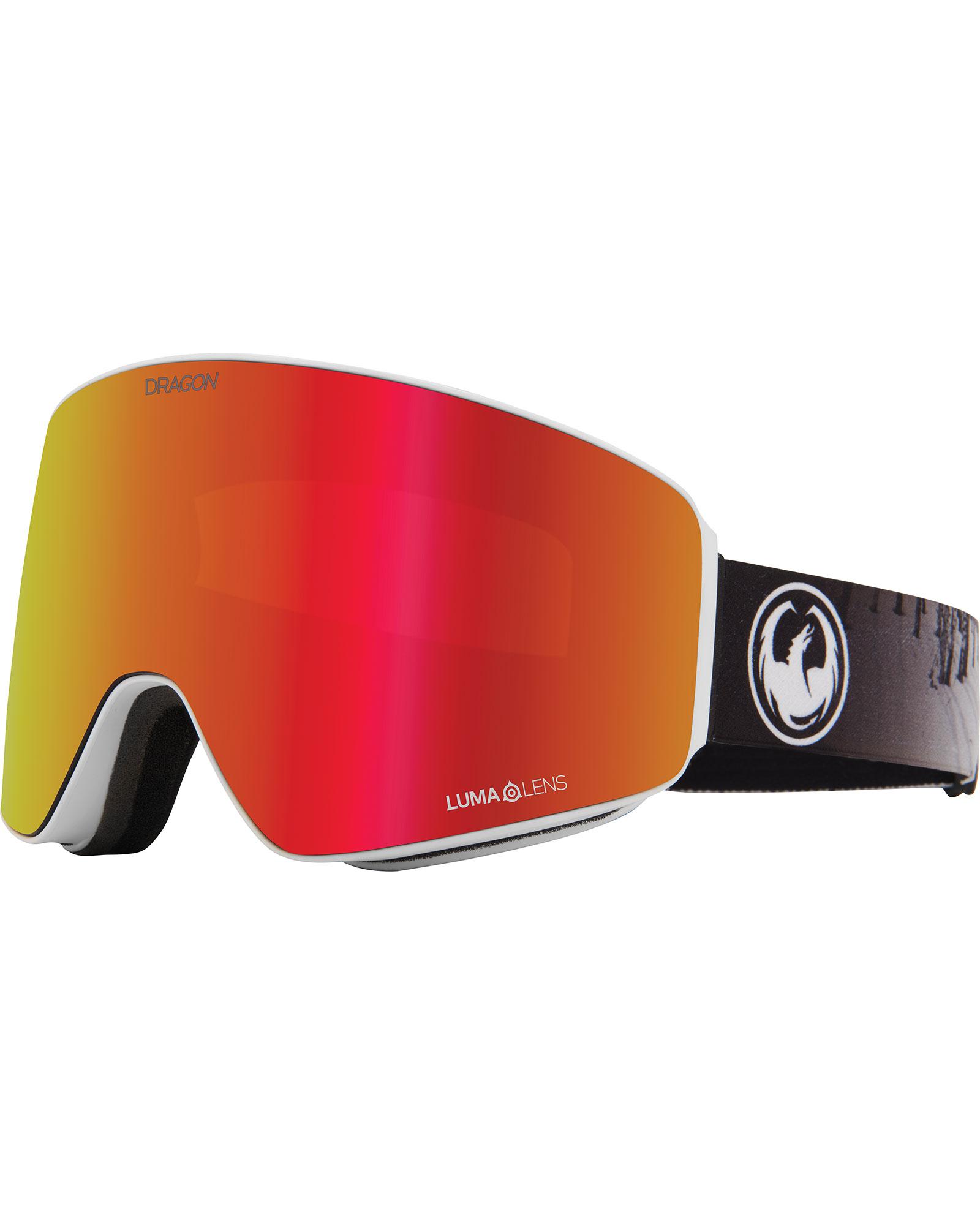 Dragon PXV The Calm / Lumalens Red Ionized + Lumalens Rose Goggles 2020 / 2021 0