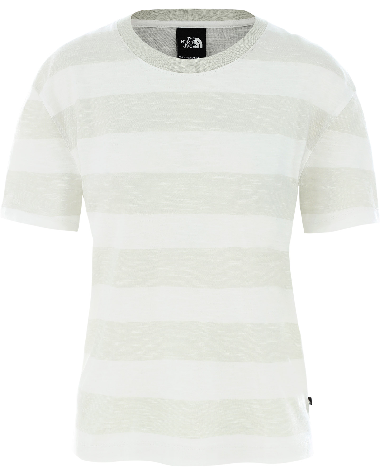 The North Face Women's Short Sleeve Stripe Knit Top 0
