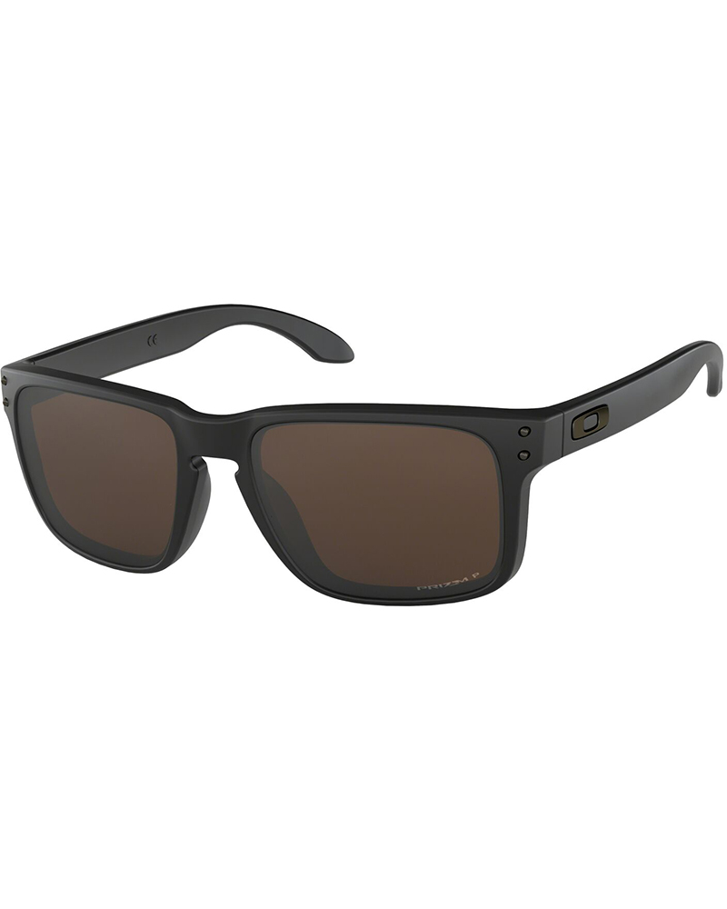 Oakley Holbrook Matte Black / Prizm Tungsten Polarized Sunglasses Matte Black 0