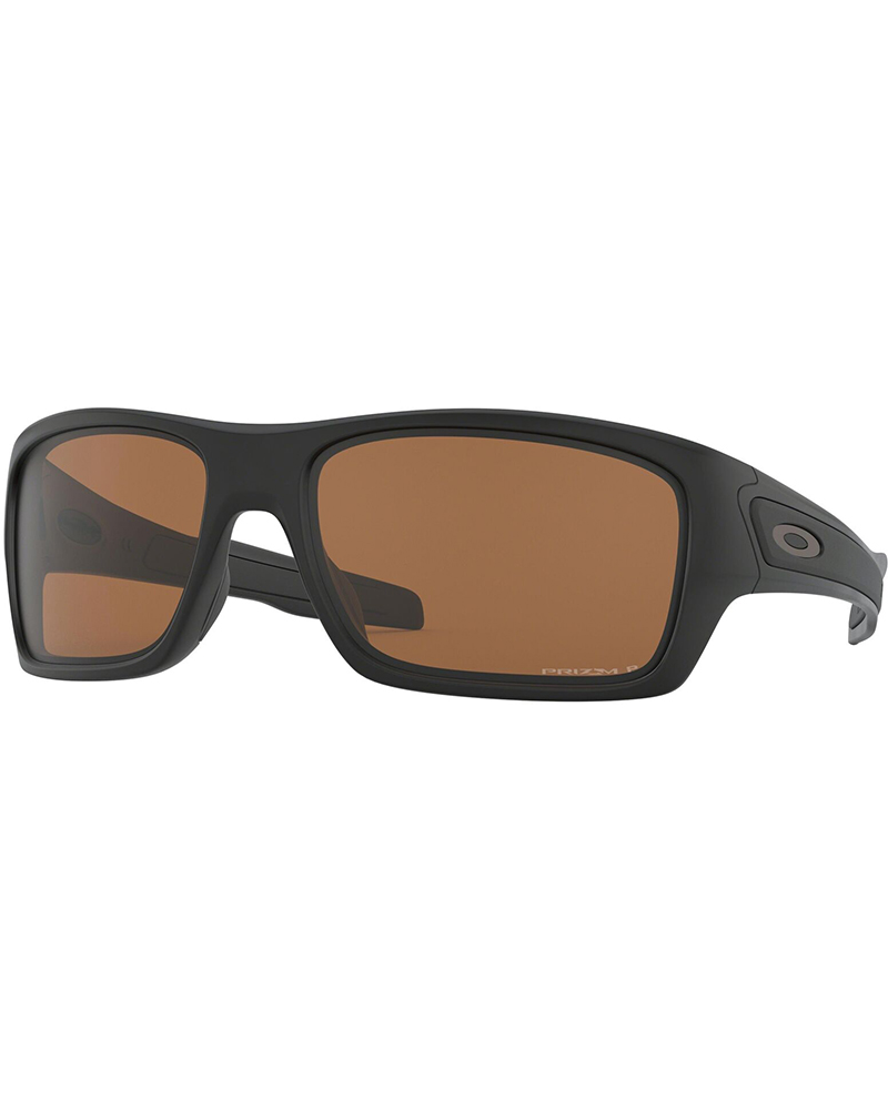 Oakley Turbine Matte Black / Prizm Tungsten Polarized Sunglasses 0