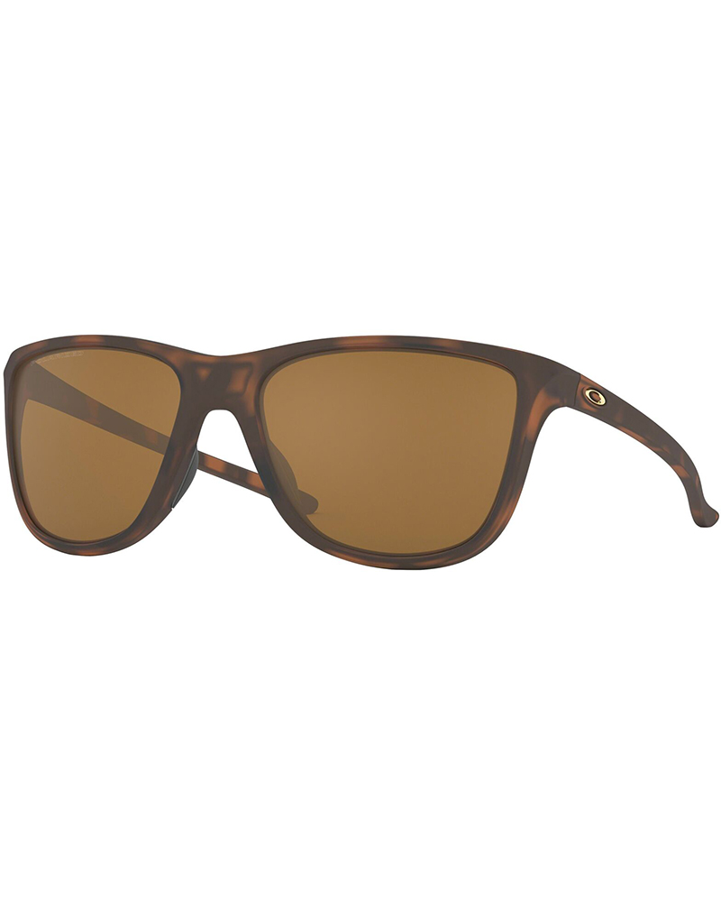 Oakley Reverie Matte Brown Tortoise / Tungsten Iridium Polarized Sunglasses 0