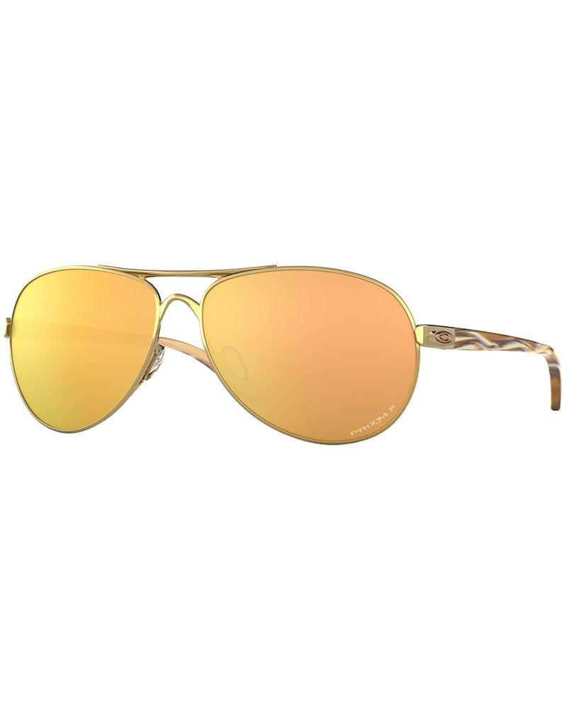 Oakley Feedback Polished Gold / Prizm Rose Gold Polarized Sunglasses Polished Gold 0