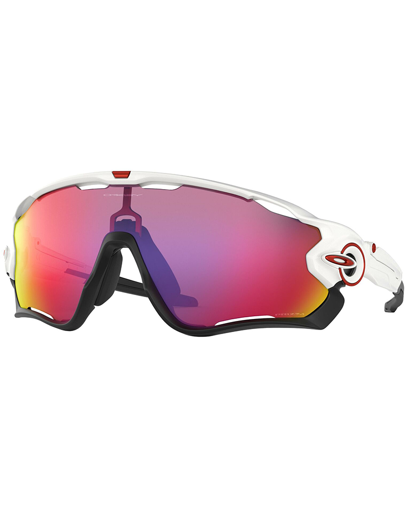 Oakley Jawbreaker Polished White / Prizm Road Sunglasses Polished White 0
