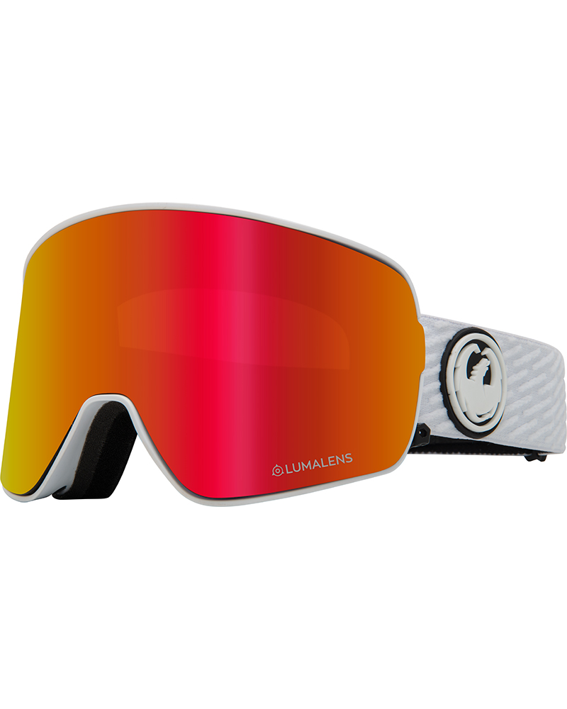 Dragon NFX2 PK White / Lumalens Red Ionized + Lumalens Pink Ionized Goggles 2019 / 2020 0