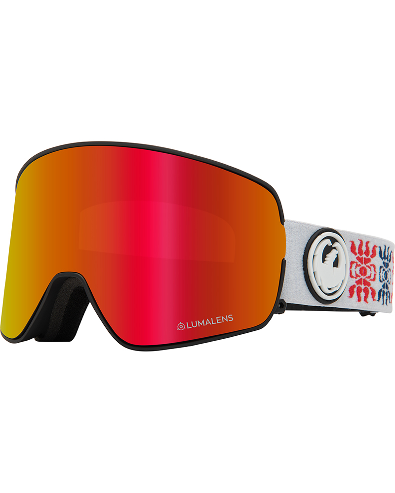 Dragon NFX2 Forest Bailey Signature / Lumalens Red Ionized + Lumalens Rose Goggles 2019 / 2020 Forest Bailey Signature 0