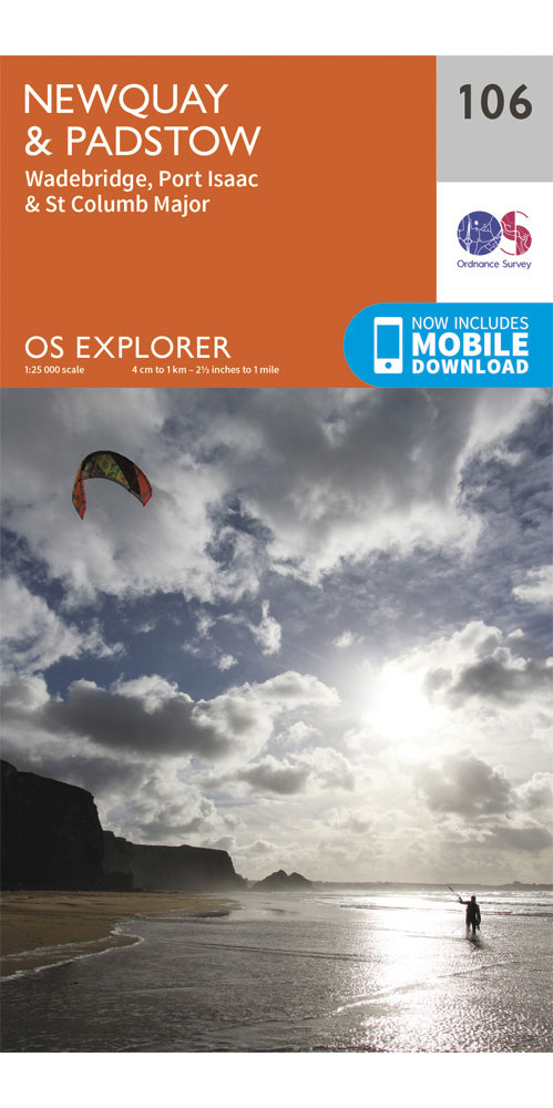 Ordnance Survey Explorer 106: Newquay & Padstow  0
