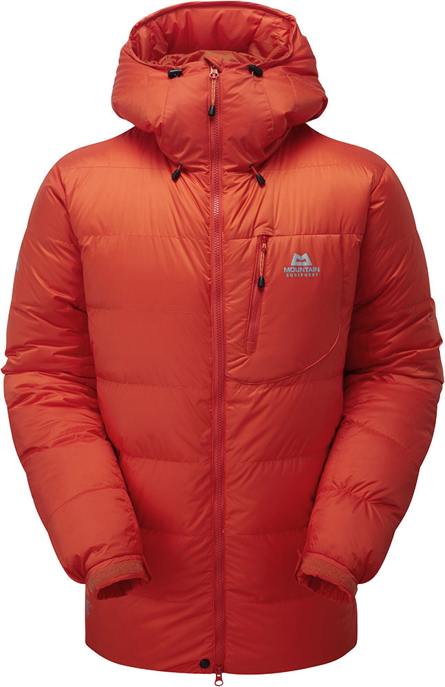 Mountain Equipment Men's K7 Drilite Down Jacket Cardinal Orange 0
