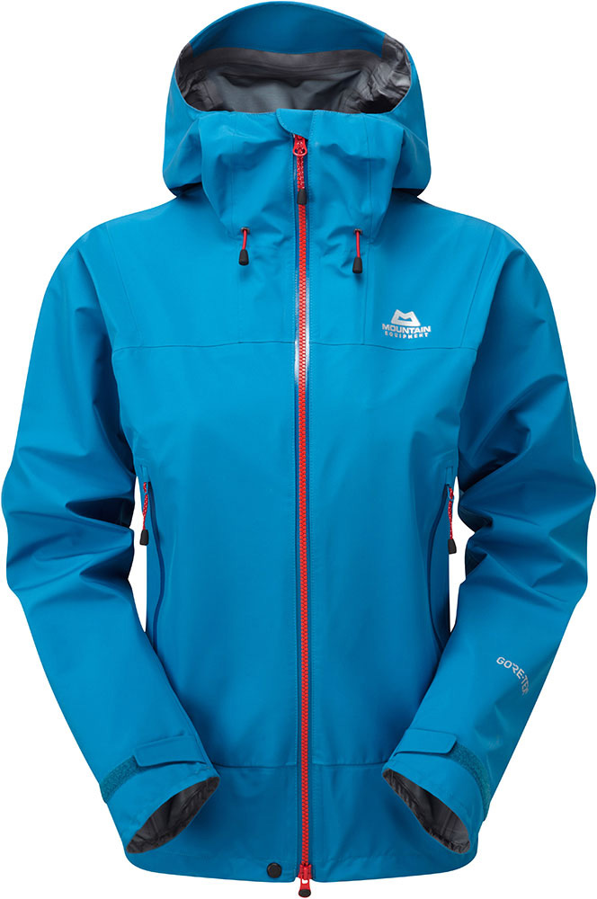 Mountain Equipment Women's Quarrel GORE-TEX C-Knit Waterproof Jacket Lagoon Blue 0