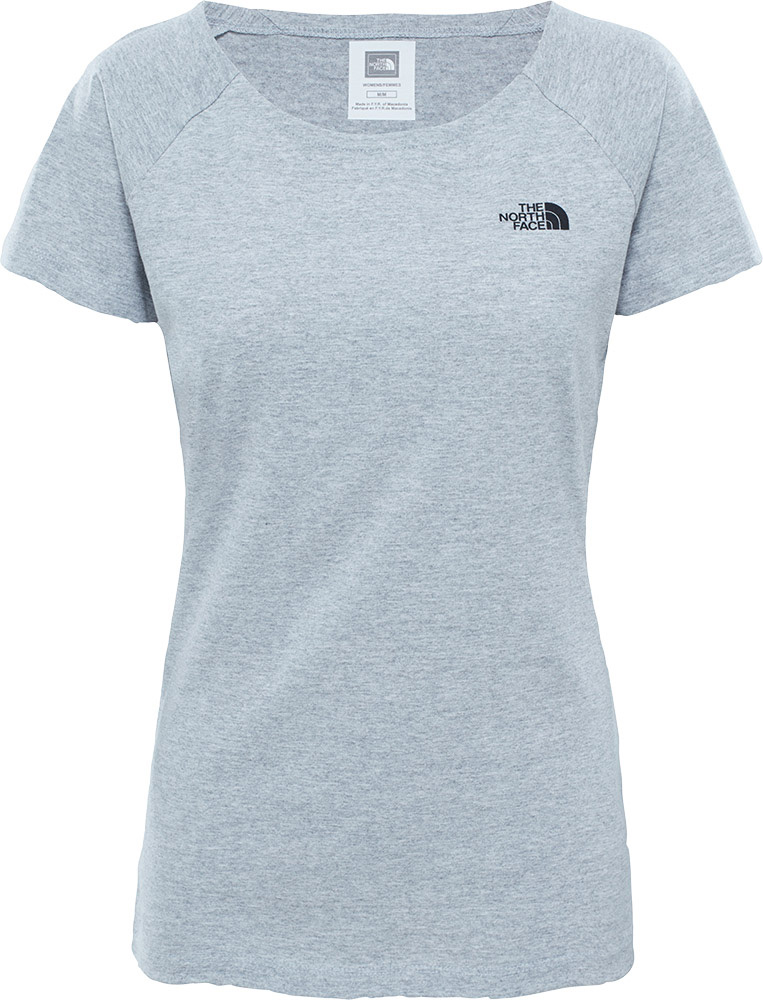 The North Face Women's S/S Raglan Simple Dome T-Shirt 0