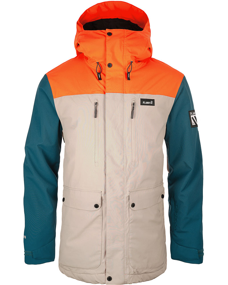Planks Men's Good Times Insulated Parka Ski Jacket 0