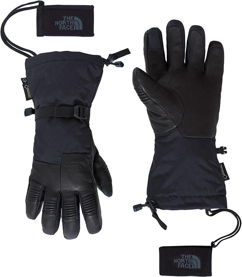 The North Face Men's Powdercloud GORE-TEX Etip Ski Gloves Black 0