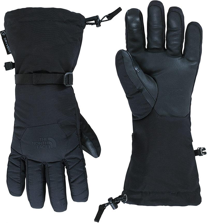 The North Face Men's Revelstoke Etip DryVent Ski Gloves Black 0