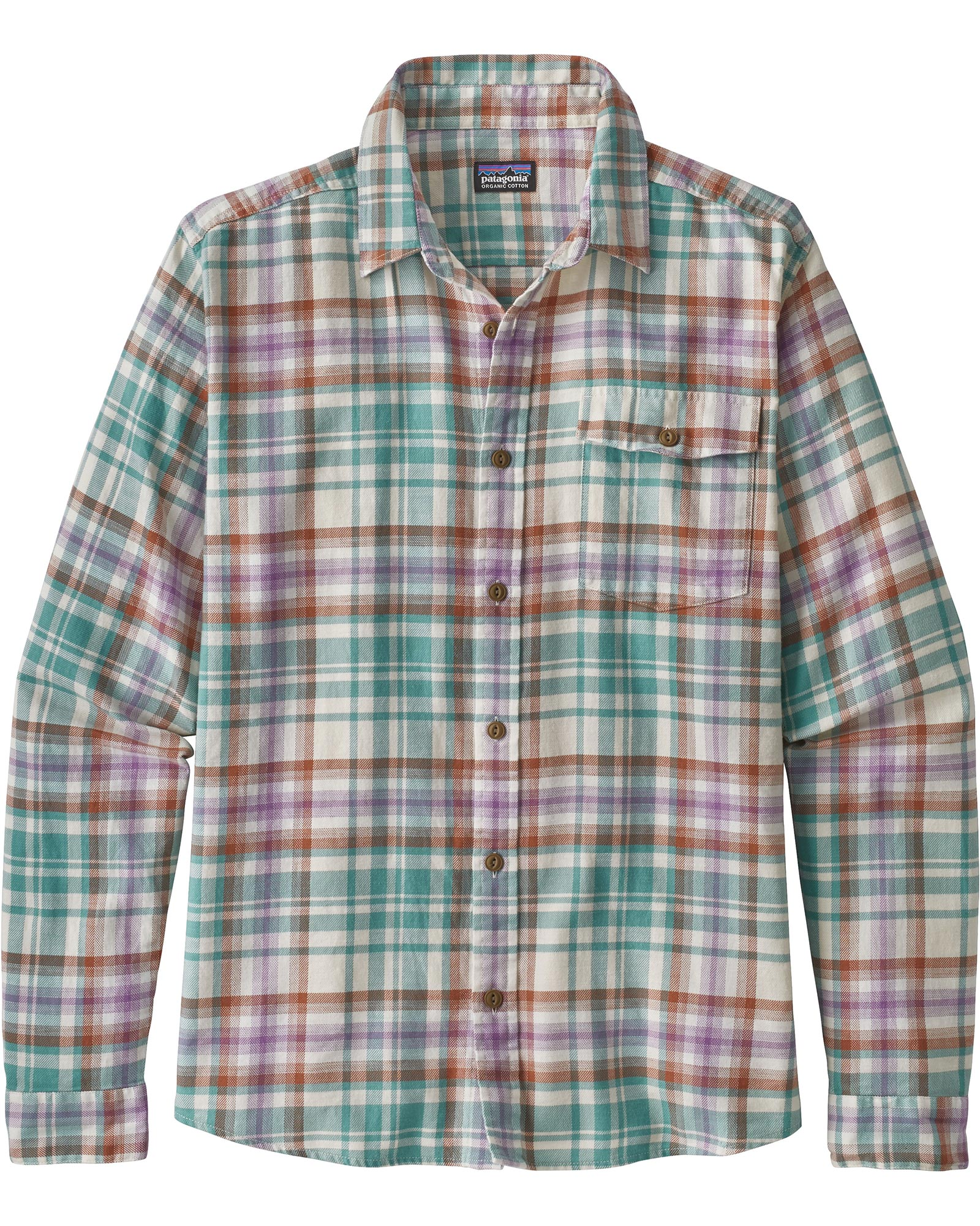 Patagonia Men's L/S Lightweight Fjord Flannel Shirt 0
