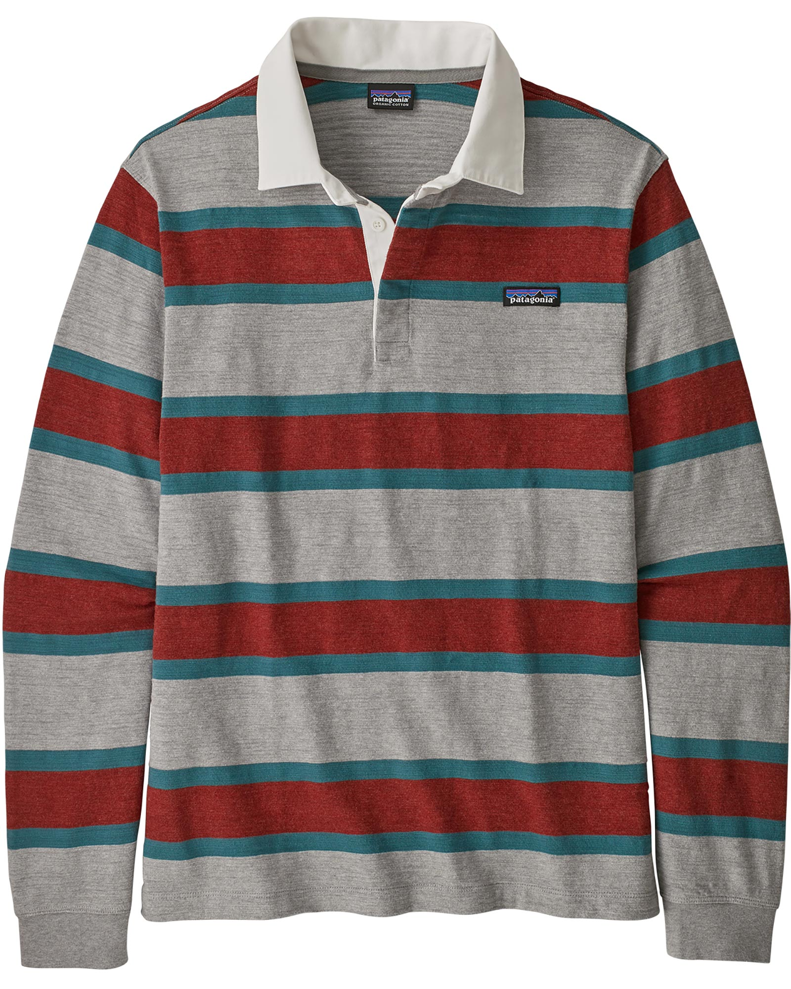 Patagonia Men's L/S Lwt Rugby Shirt 0