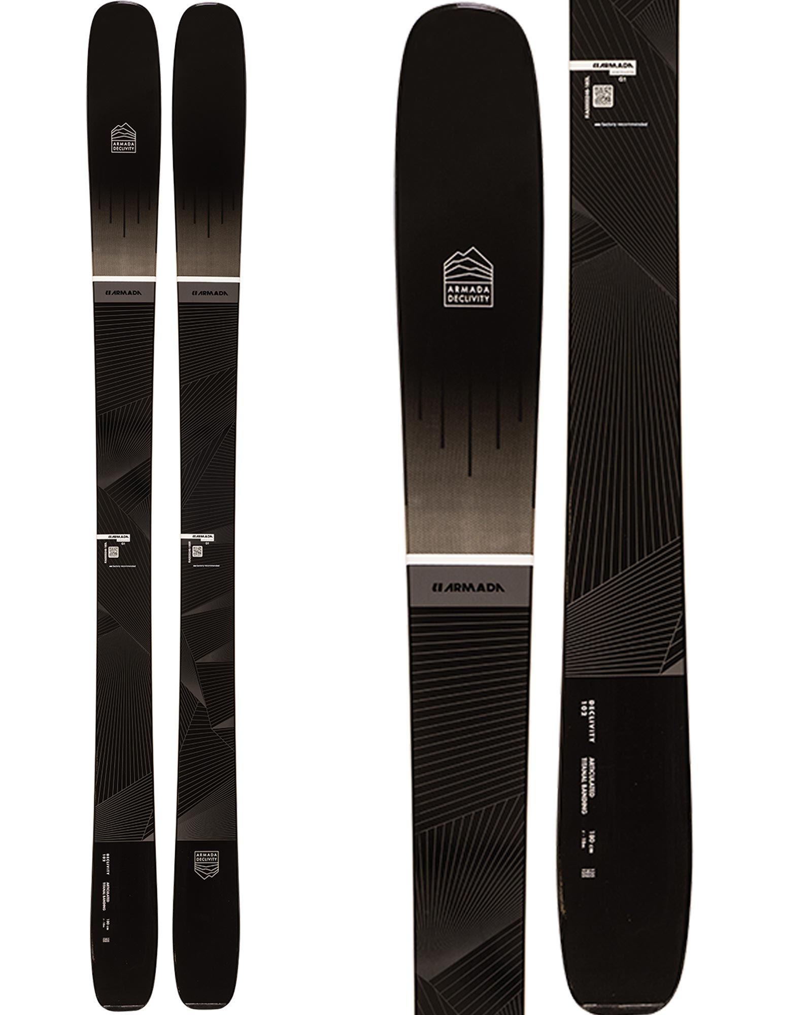 Armada Men's Declivity 102 Ti Freeride Skis 2020 / 2021 0