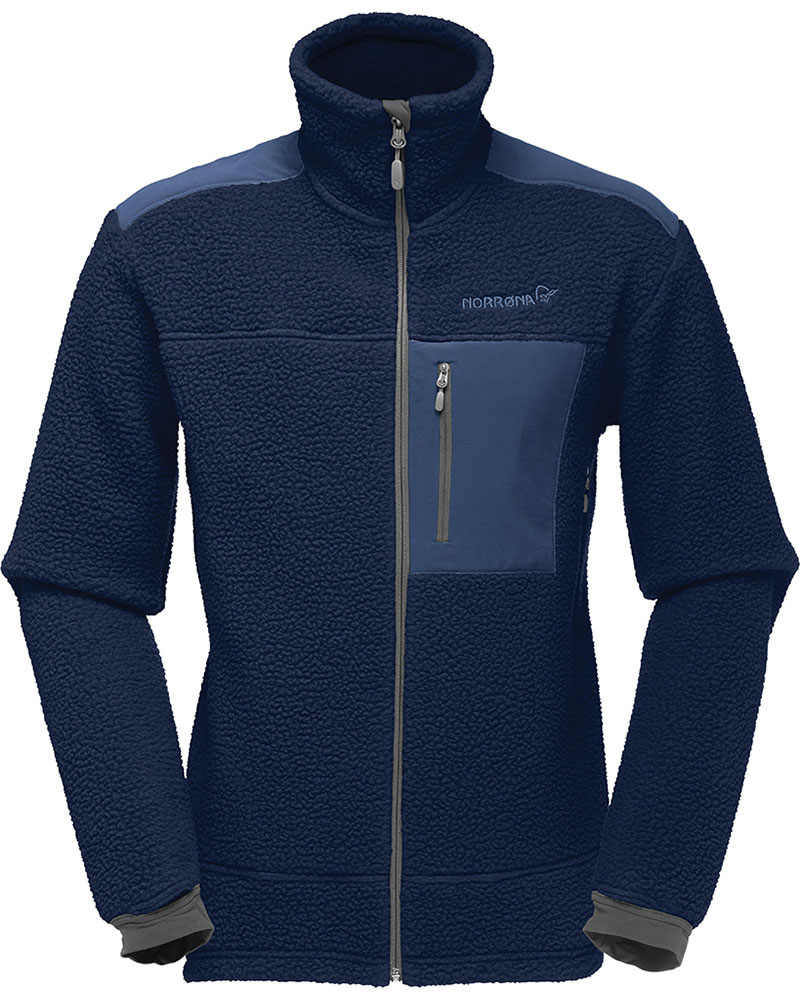 Norrona Men's Trollveggen Thermal Pro Fleece Jacket Indigo Night 0