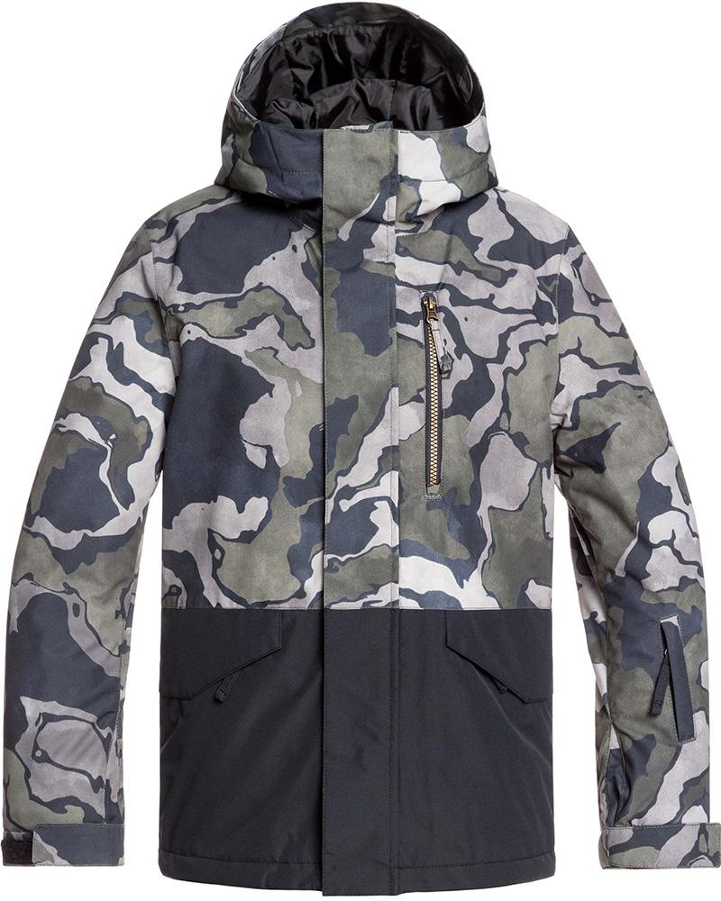 Quiksilver Boys' Mission Block Snowsports Jacket 0