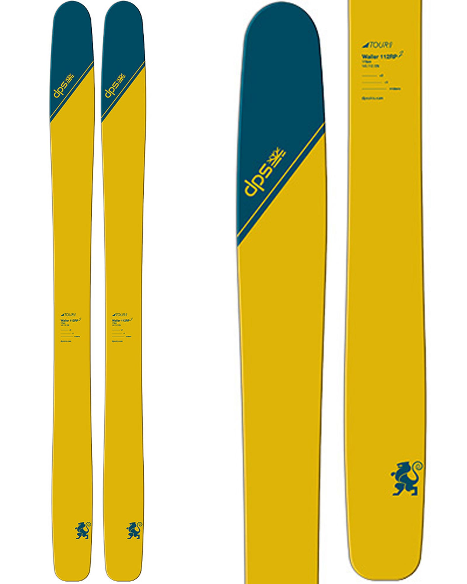 DPS Men's Wailer 112 Tour1 Backcountry Skis 2019 / 2020 0
