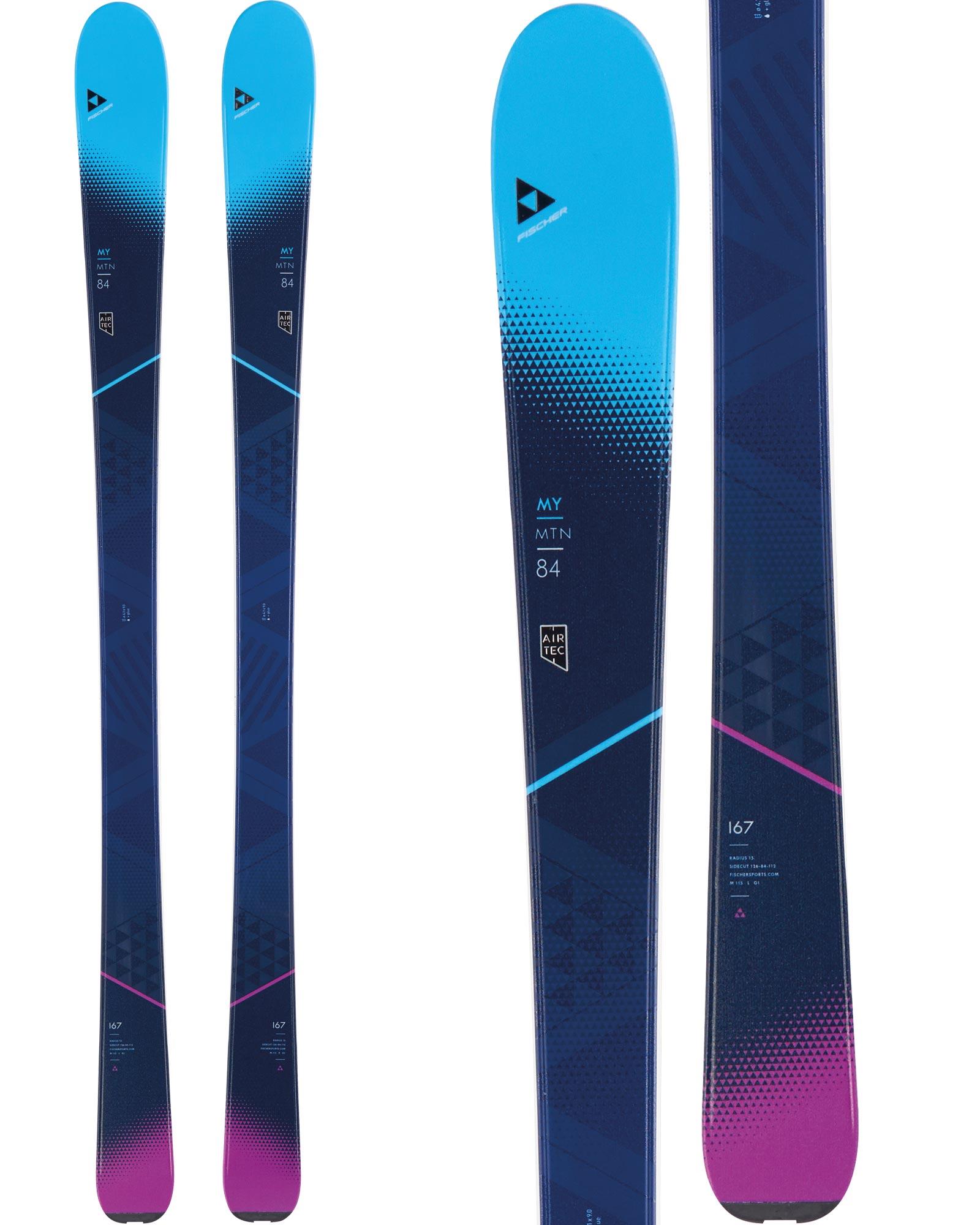 Fischer Women's My Mtn 84 All Mountain Skis 0