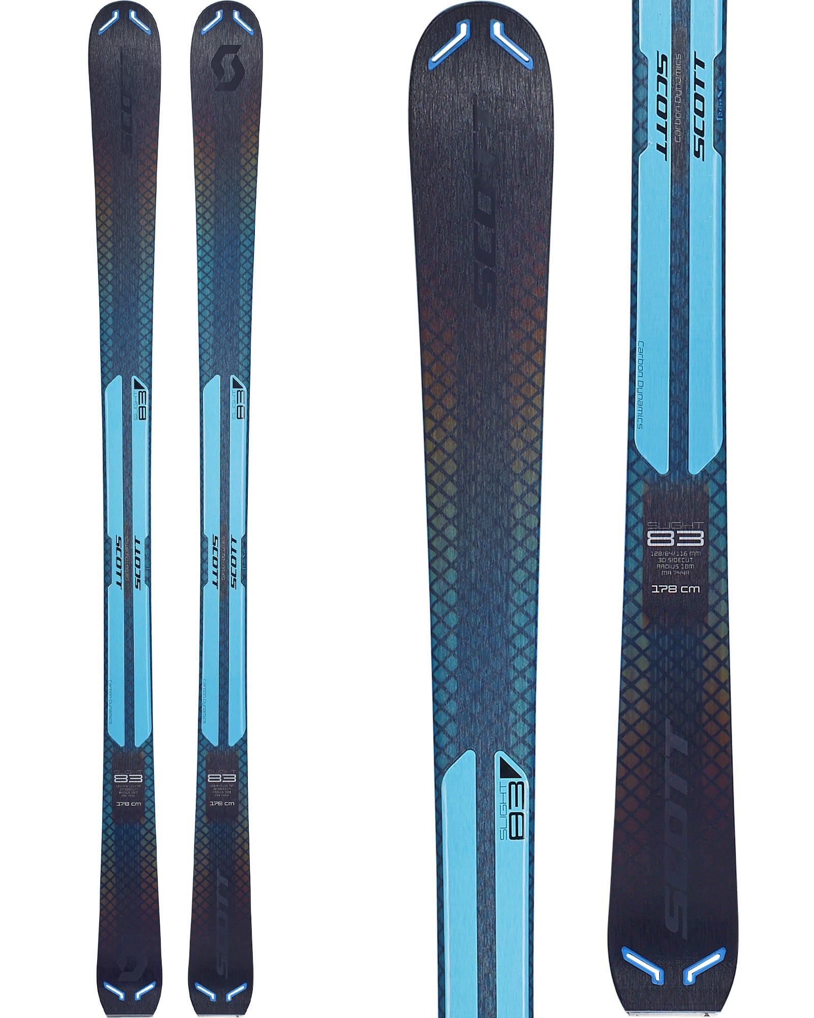 Scott Women's Slight 83 W All Mountain Skis 2018 / 2019 0