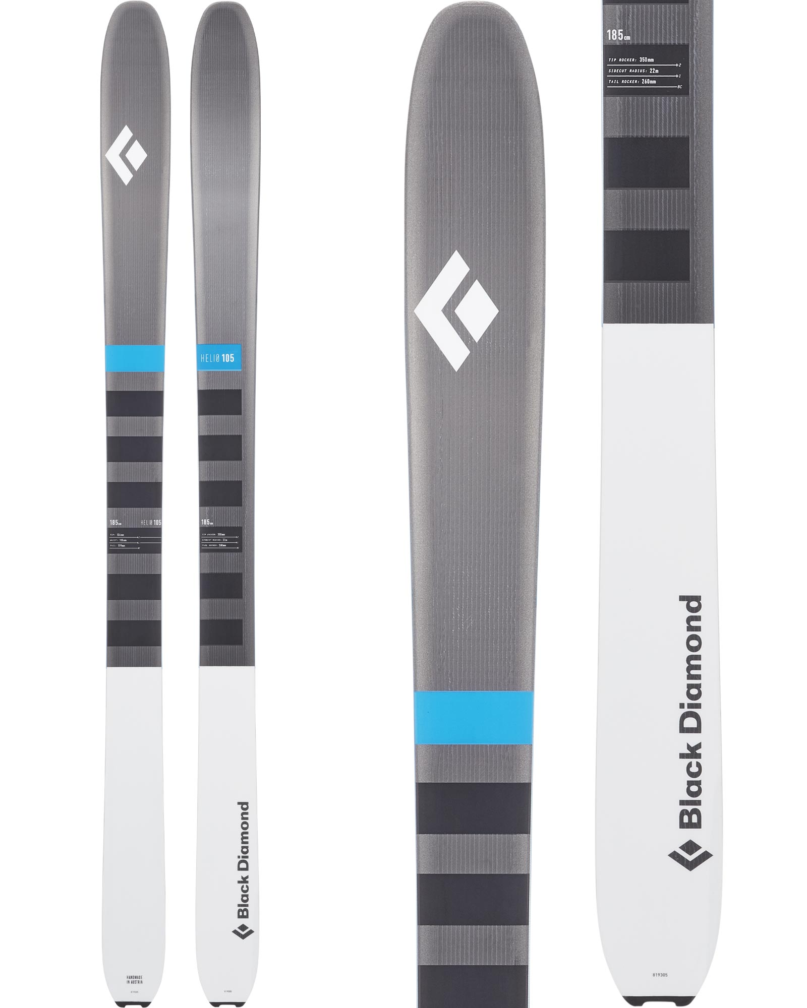 Black Diamond Alpine Flz Walking Poles (pair)