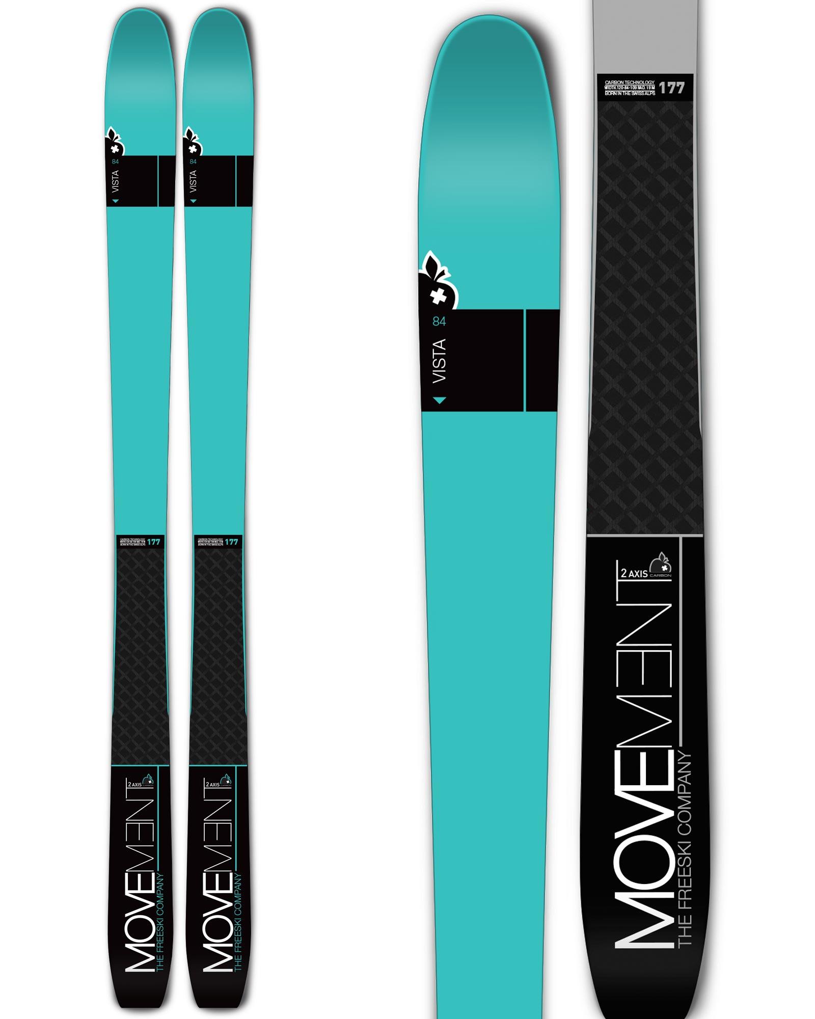 Movement Vista 84 W Backcountry Skis 2018 / 2019 0
