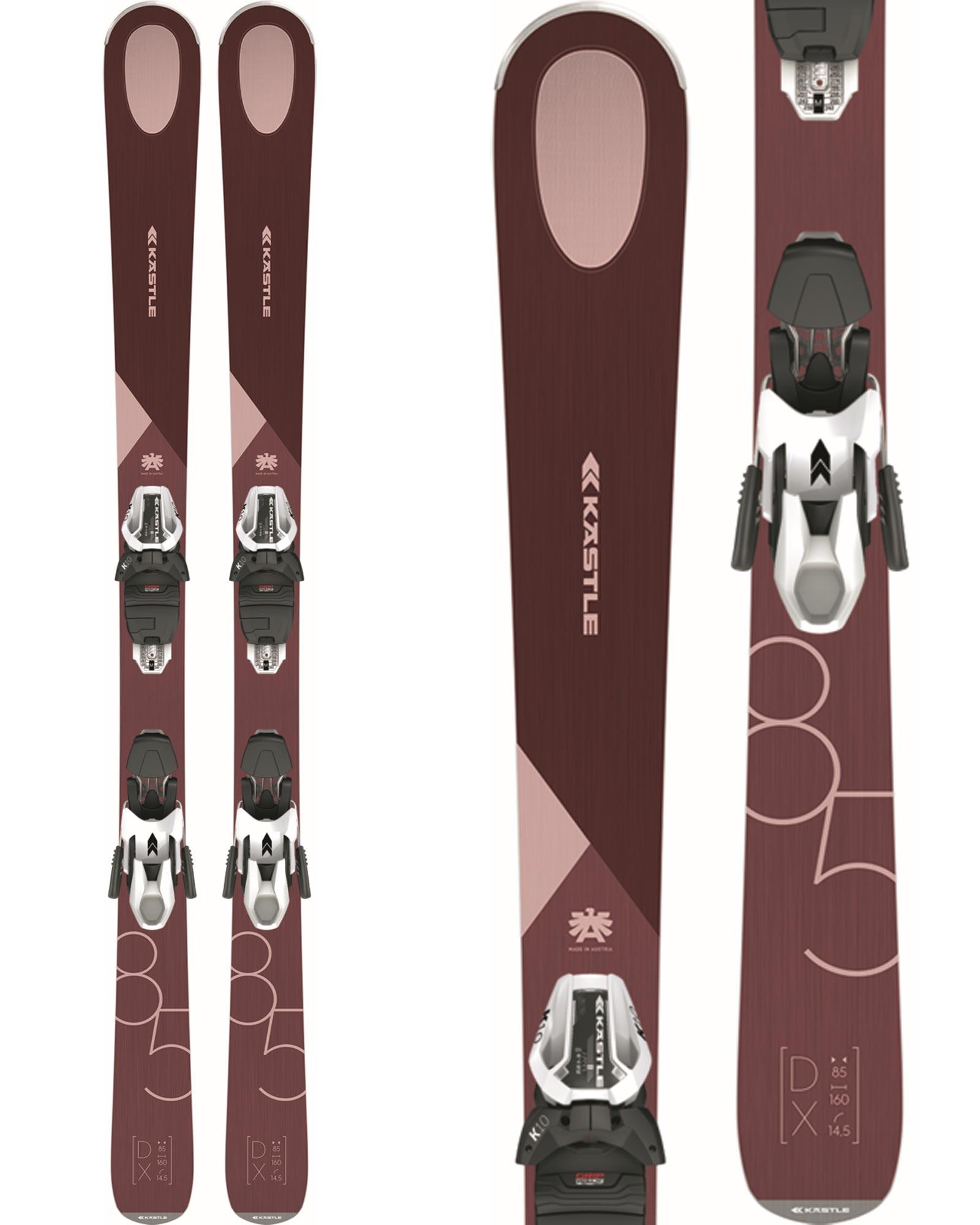 Kastle Women's DX85 All Mountain Skis + K10 SLR GW Bindings 2020 / 2021 0