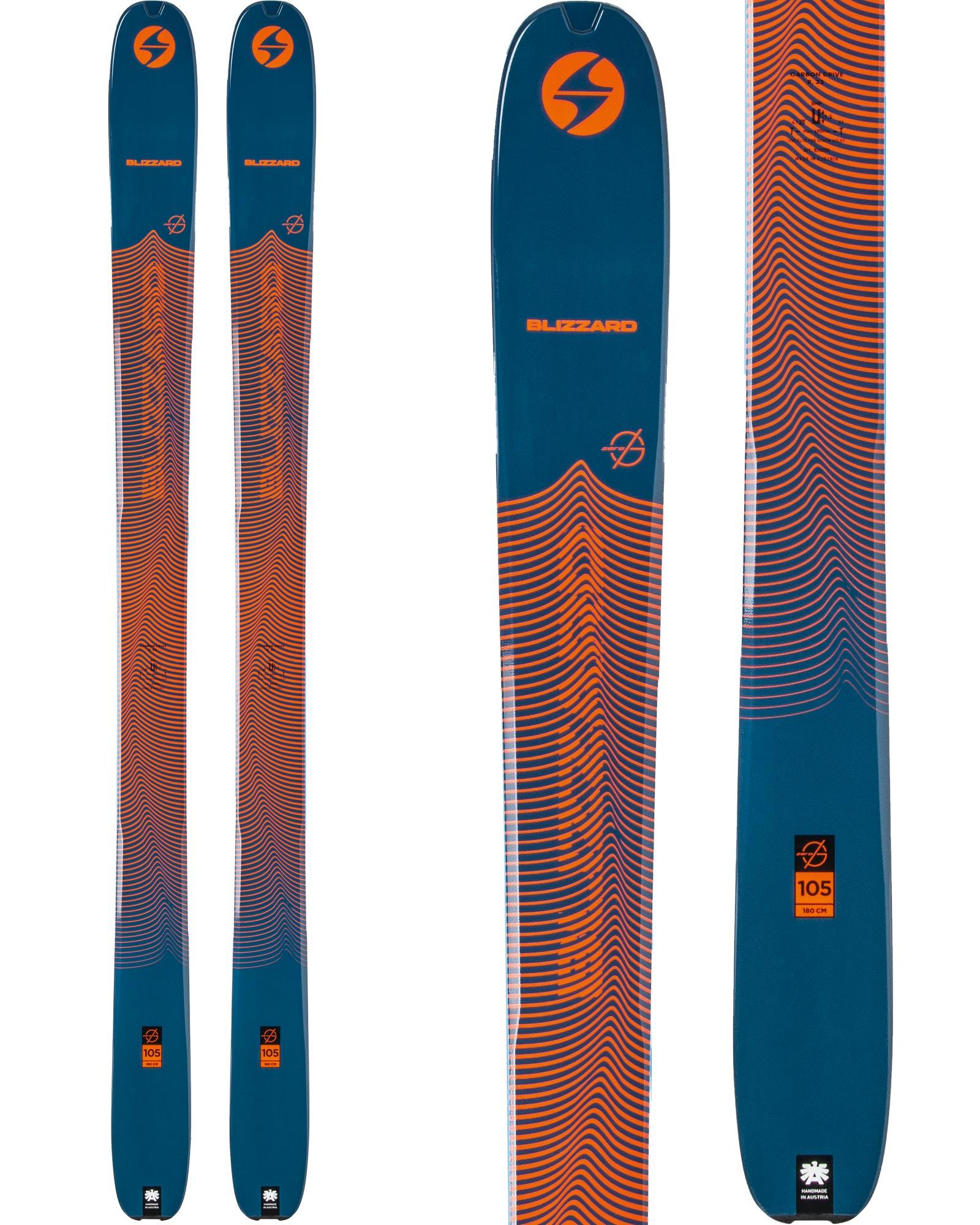 Blizzard Men's Zero G 105 Backcountry Skis 2020 / 2021 0