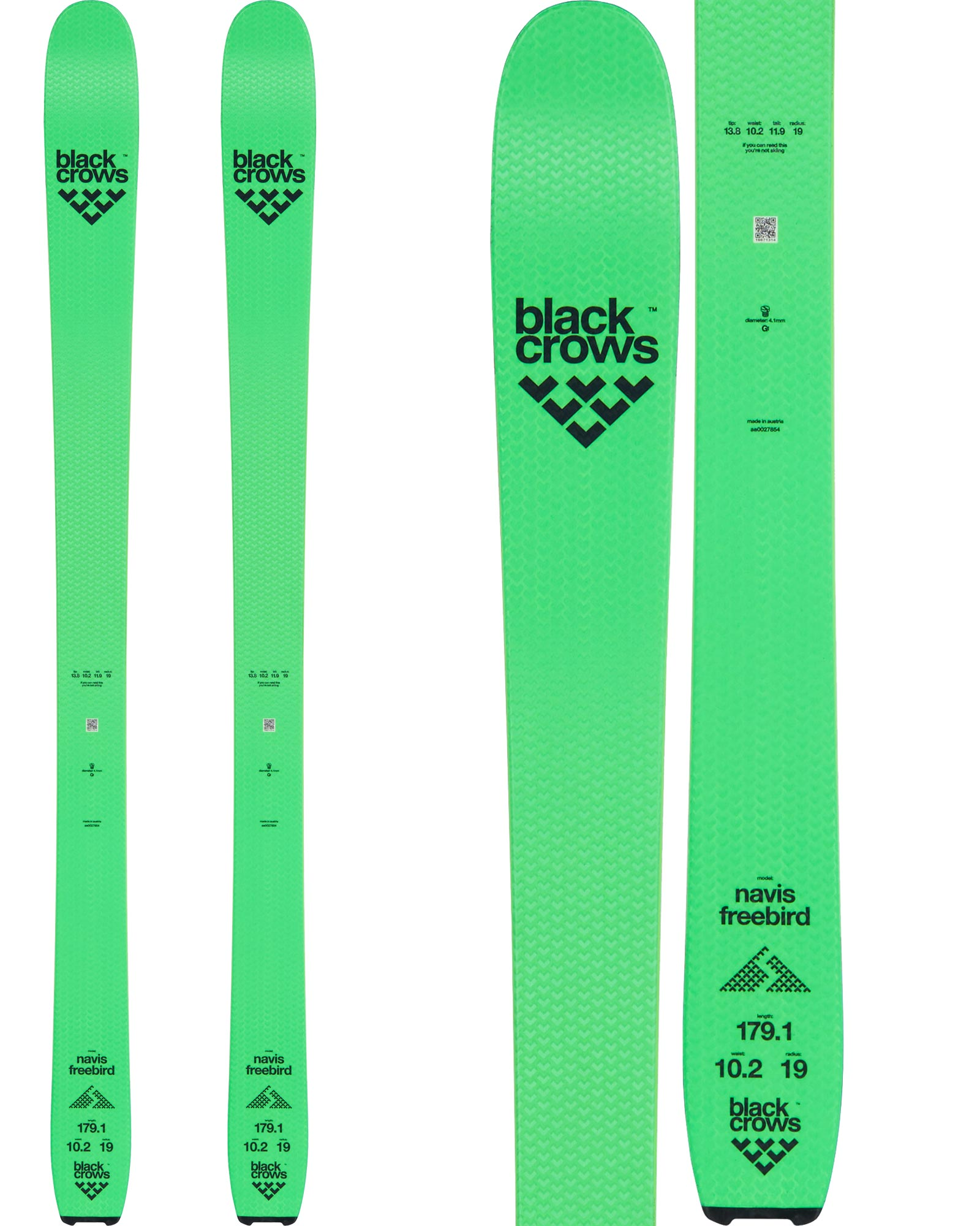 Black Crows Men's Navis Freebird Backcountry Skis 2020 / 2021 0