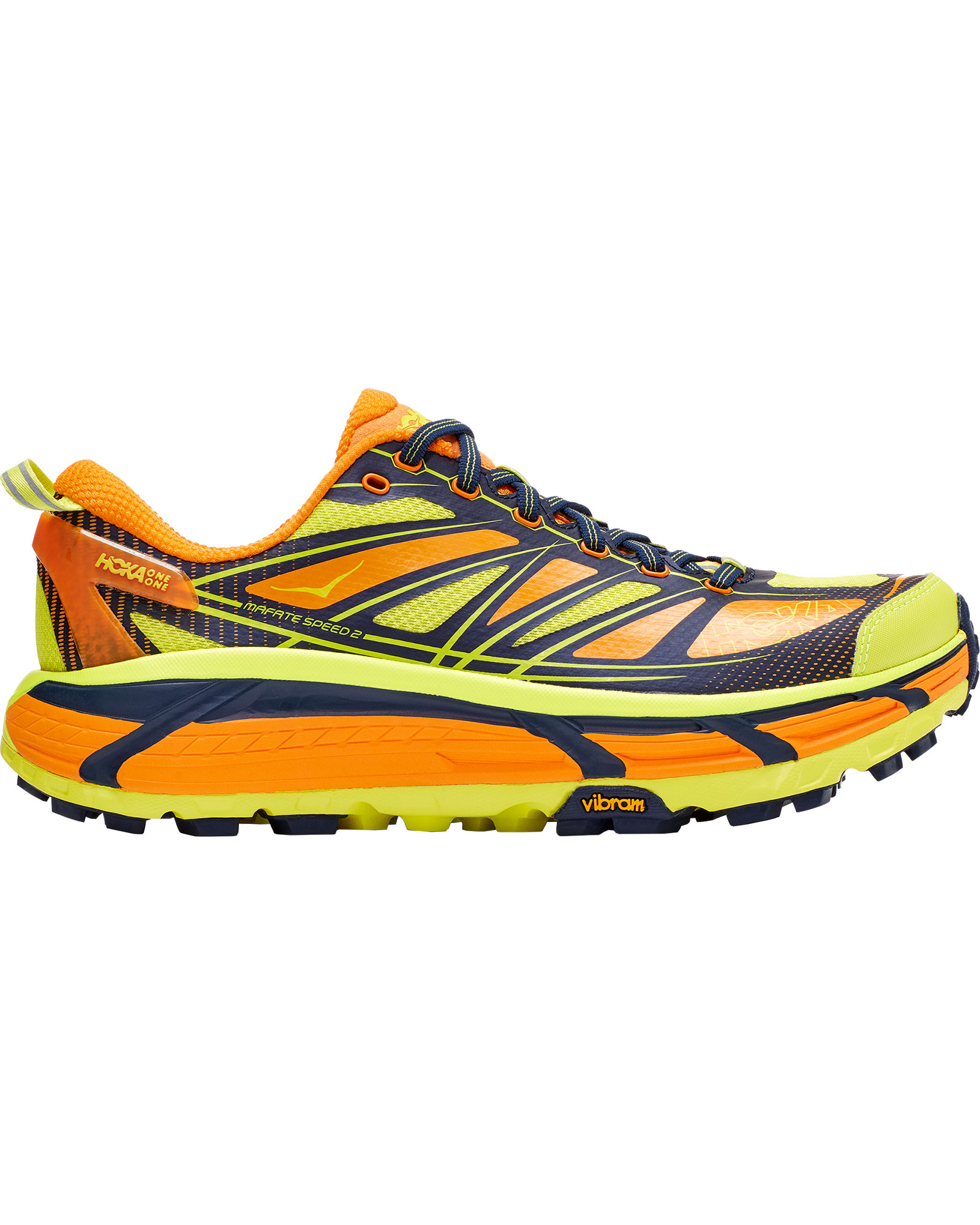 Hoka One One Men's Mafate Speed 2 Trail Running Shoes 0