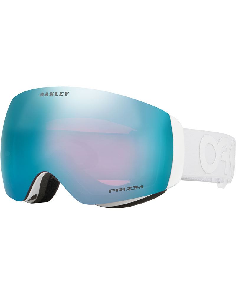 Oakley Flight Deck XM Factory Pilot Whiteout / Prizm Sapphire Iridium Goggles 2019 / 2020 Factory Pilot Whiteout 0