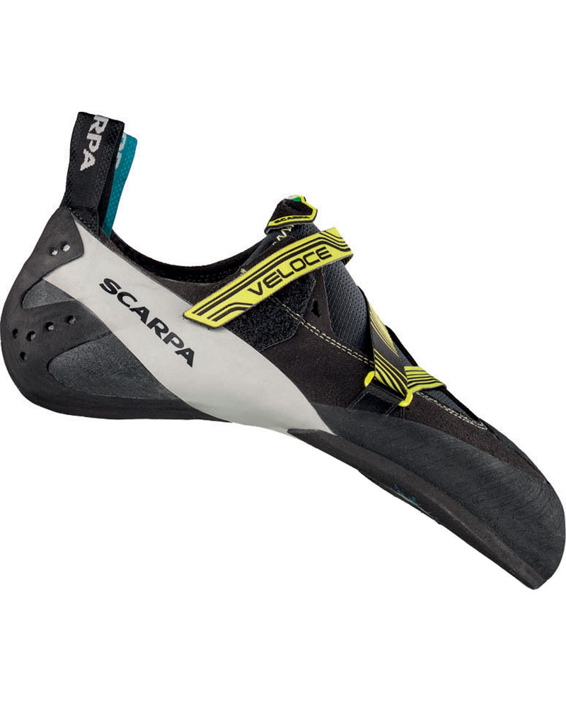 Scarpa Men's Veloce Climbing Shoes Black/Yellow 0