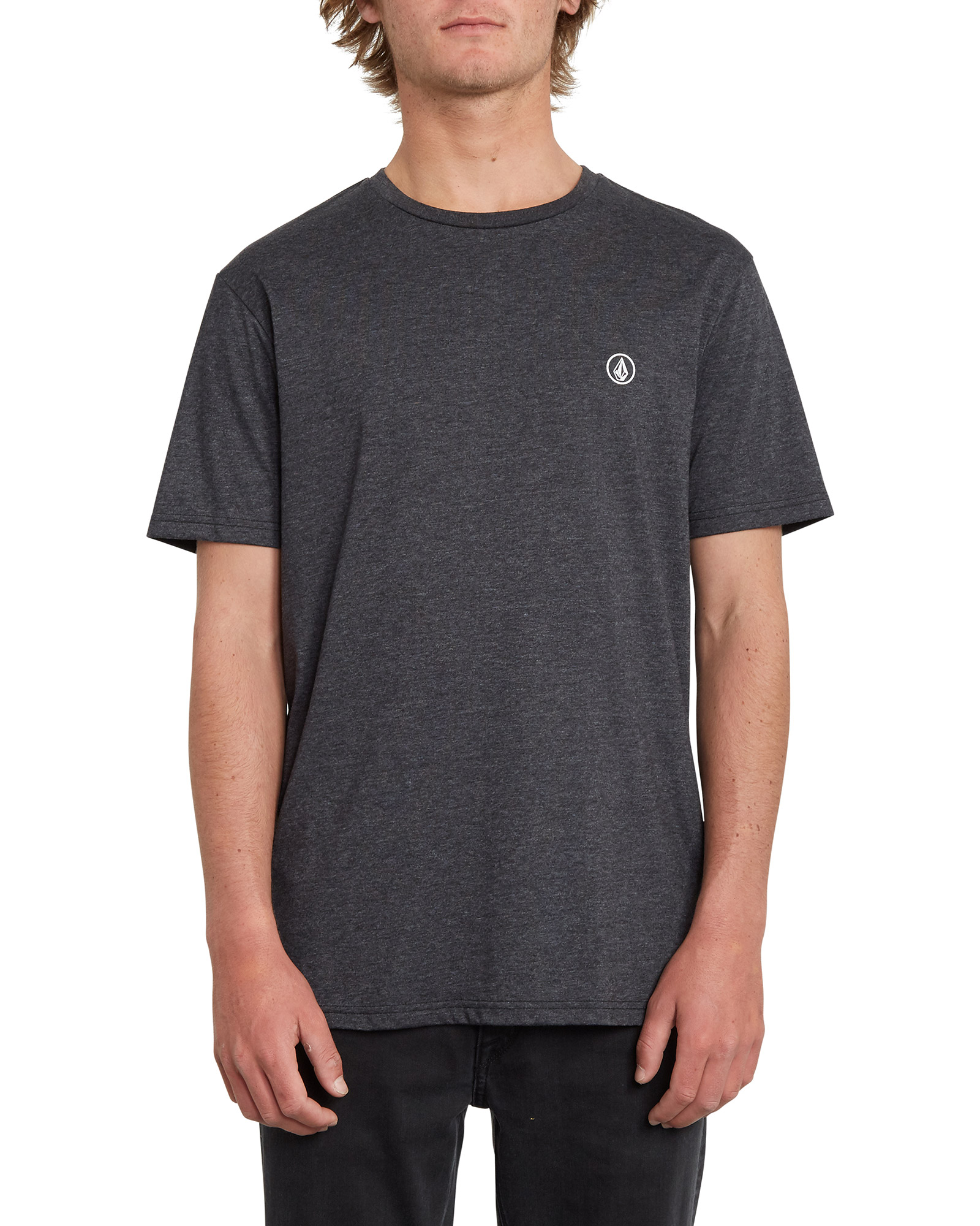 Volcom Men's Circle Blanks HTH Short Sleeve T-Shirt 0