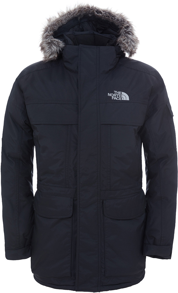The North Face Men's McMurdo Parka DryVent Jacket TNF Black 0