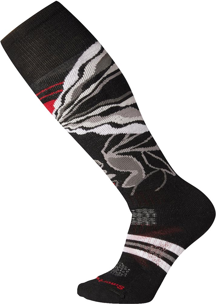 Smartwool Women's PhD Ski Medium - Pattern Socks 0