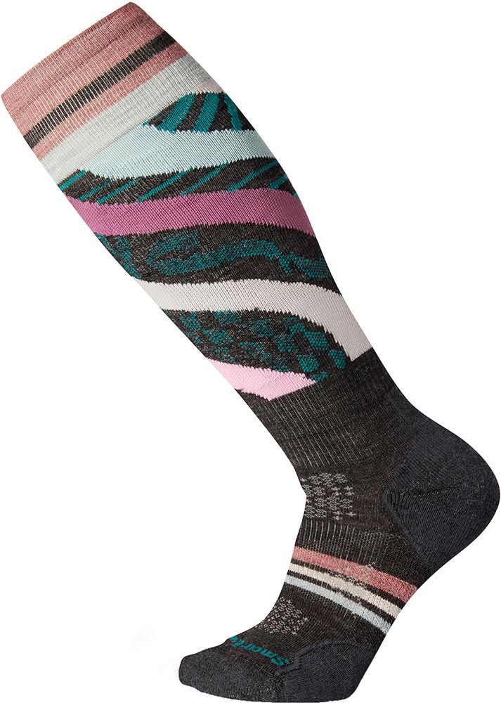 Smartwool Women's PhD Ski Light - Pattern Socks 0