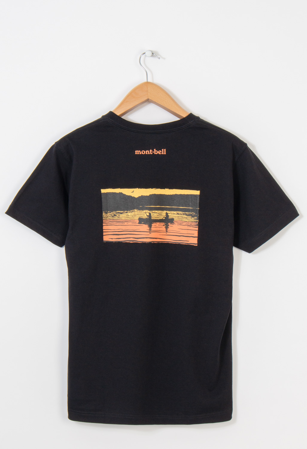 Montbell Pear Skin Cotton Canadian Canoe T-Shirt 0