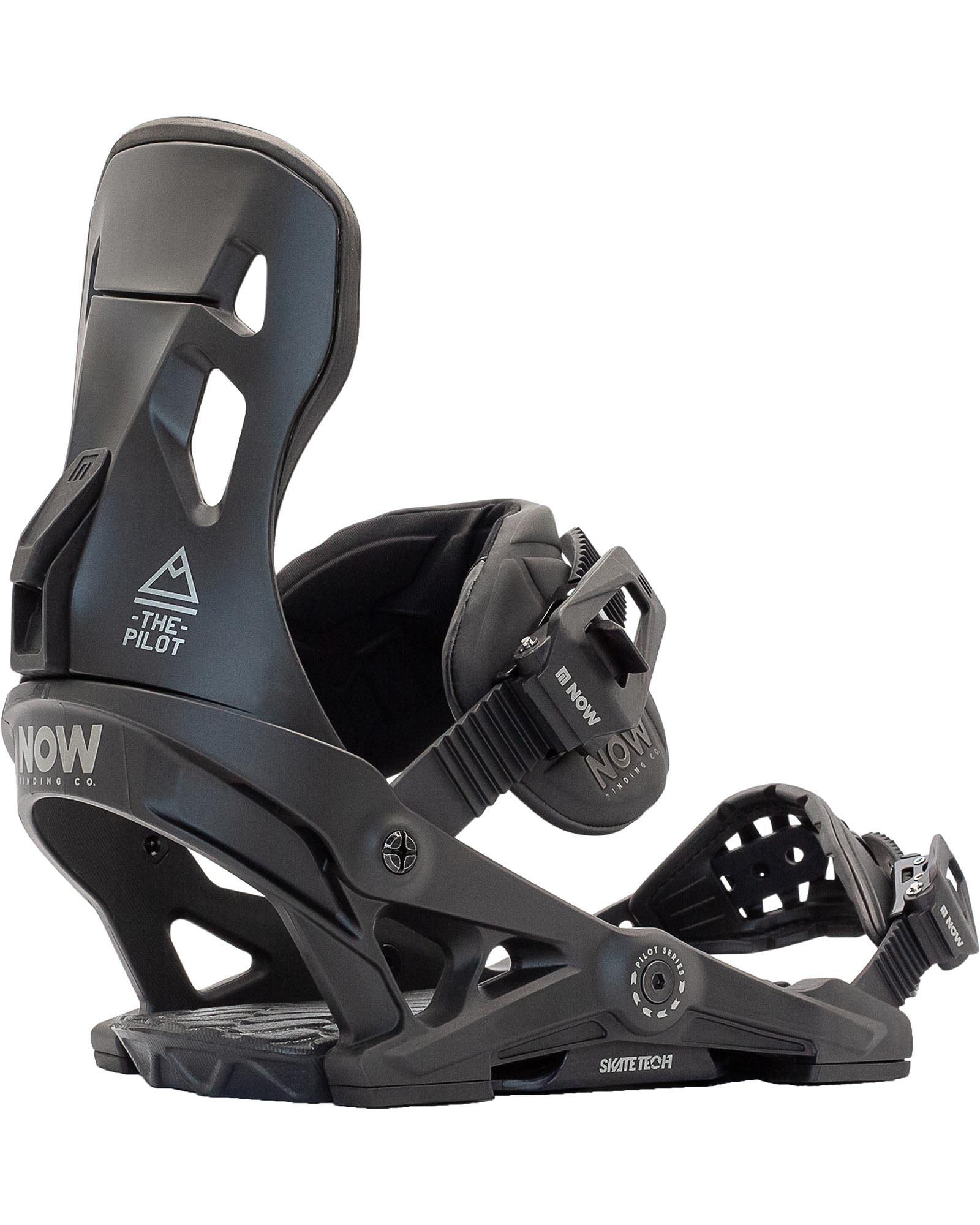 NOW Pilot Men's Snowboard Bindings 2021 0