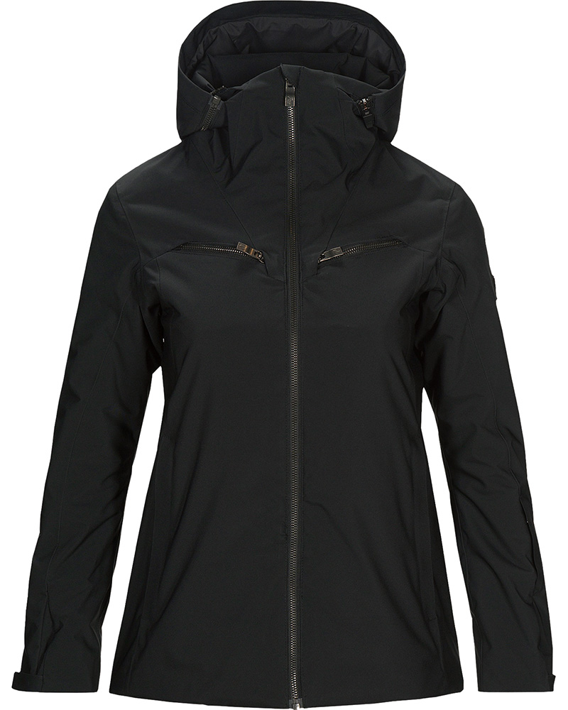 Peak Performance Women's Lanzo Ski Jacket Black 0