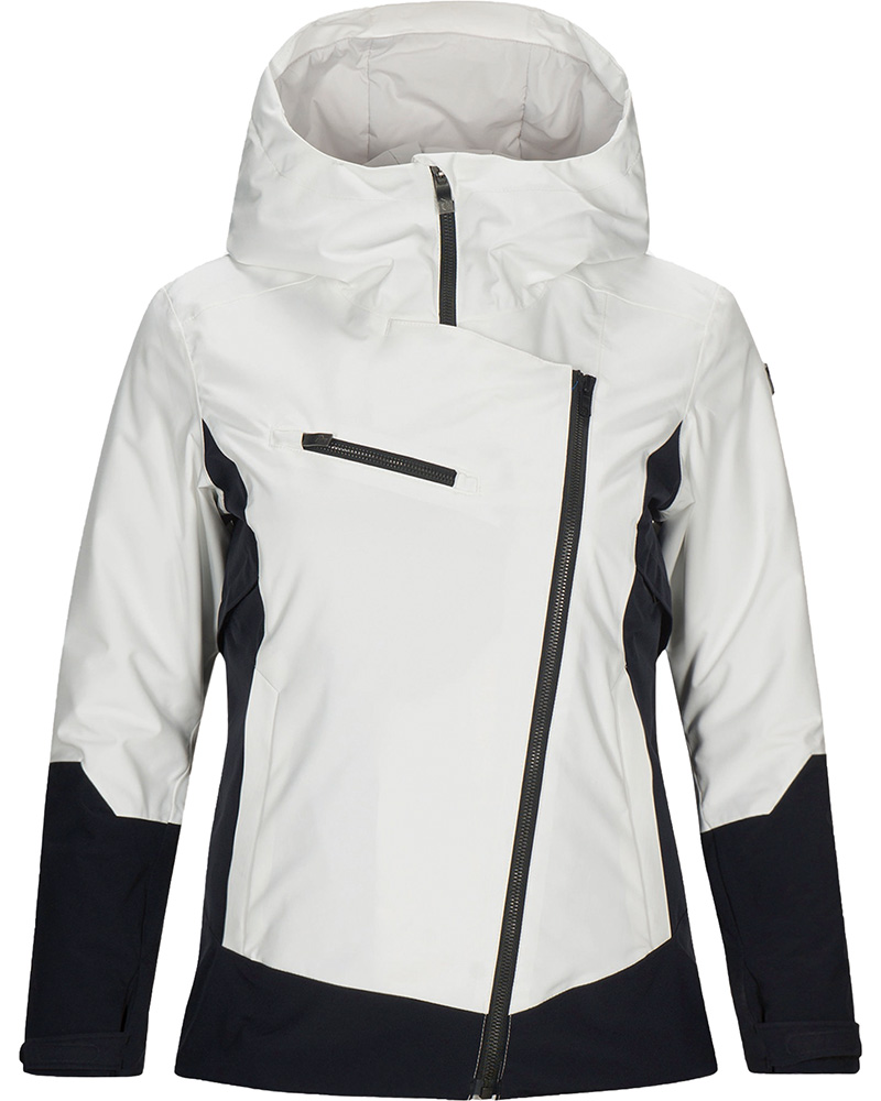 Peak Performance Women's Scoot Ski Jacket Off White/Black 0