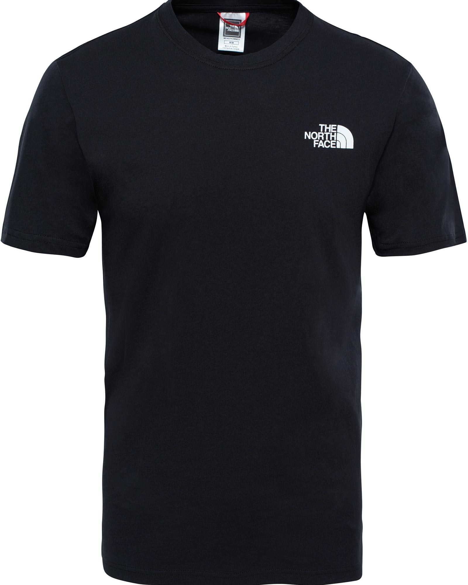 The North Face Men's S/S Red Box T-Shirt TNF Black 0